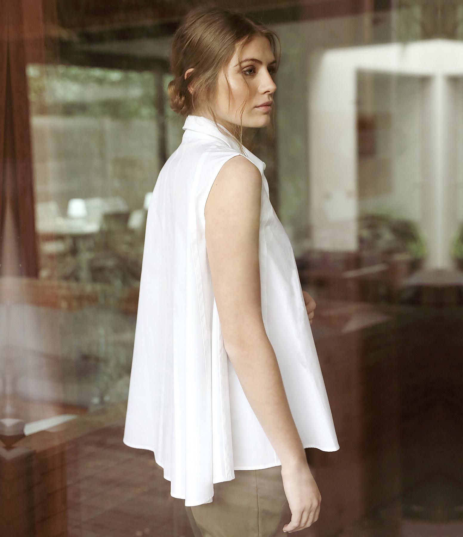HANA SAN - Chemise Akemi Blanc