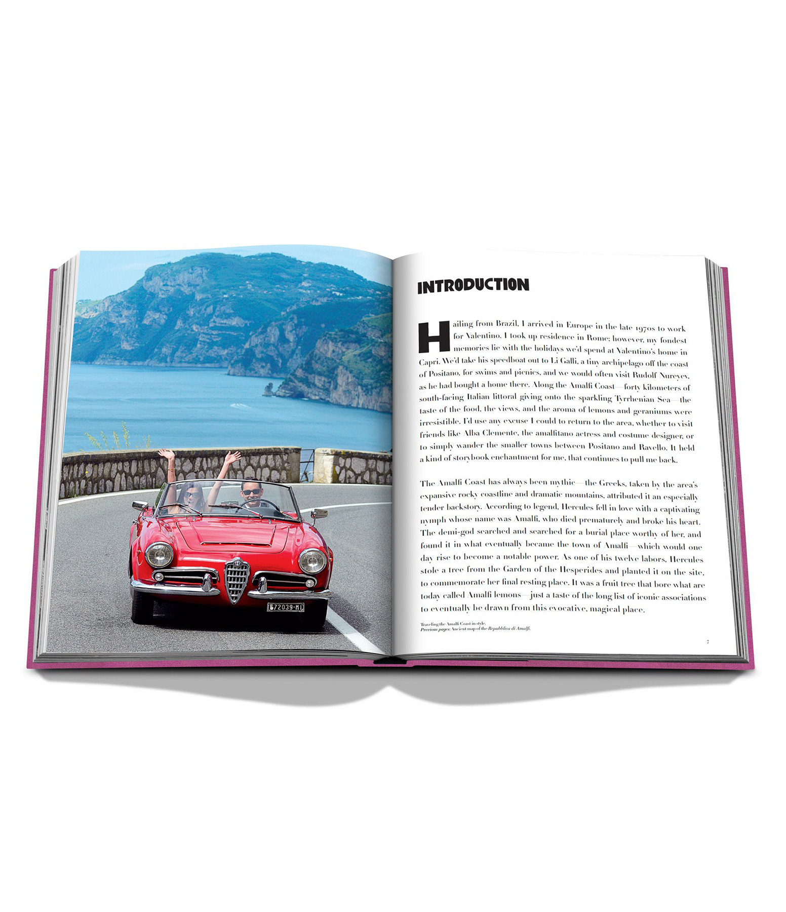 ASSOULINE - Livre Amalfi Coast