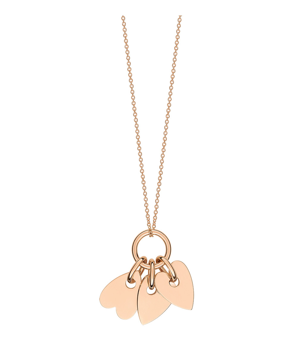 GINETTE_NY - Collier Angele 3 Mini Coeurs