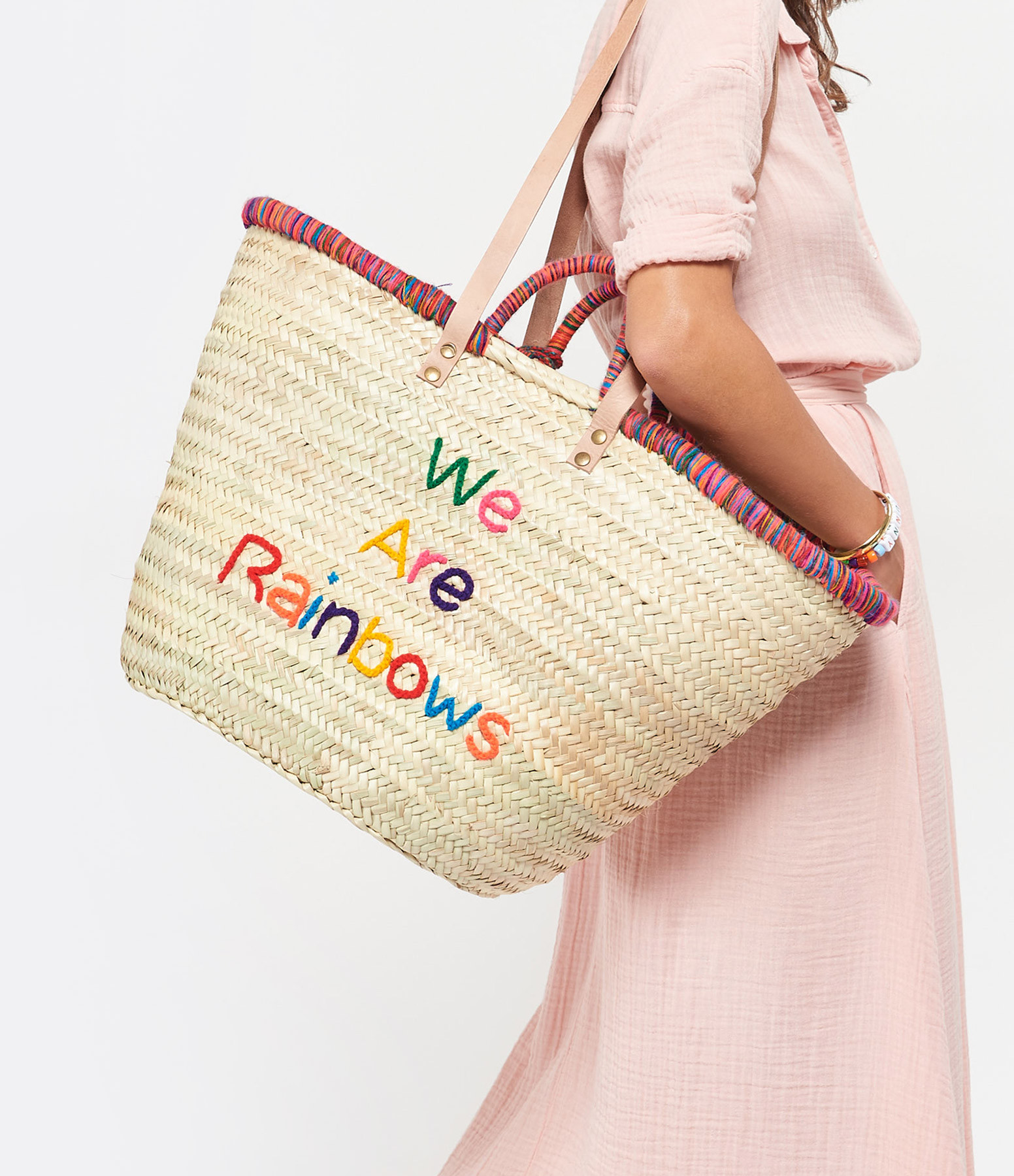 ANATA - Panier We Are Rainbow