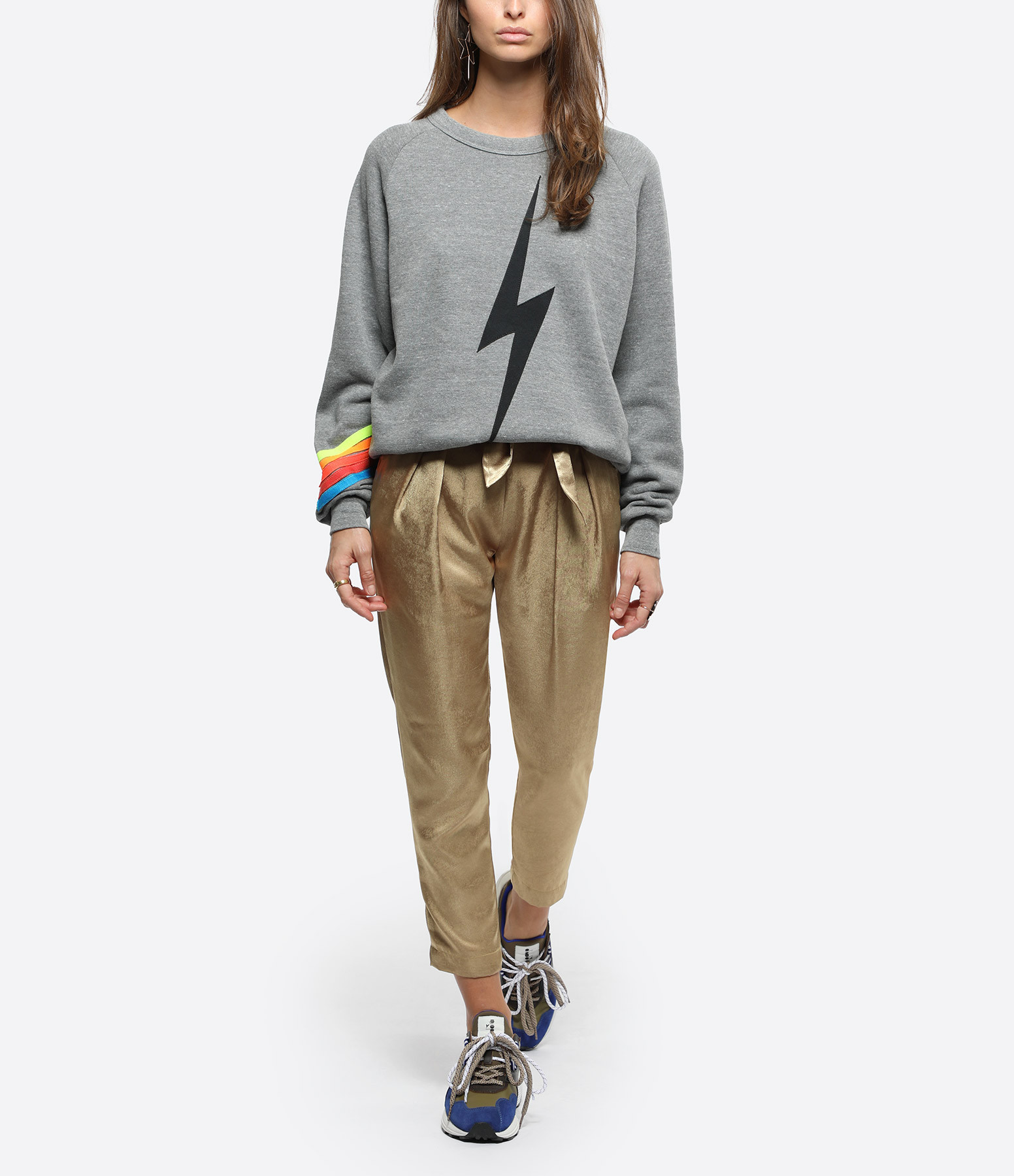 AVIATOR NATION - Sweatshirt Bolt Arc-en-Ciel
