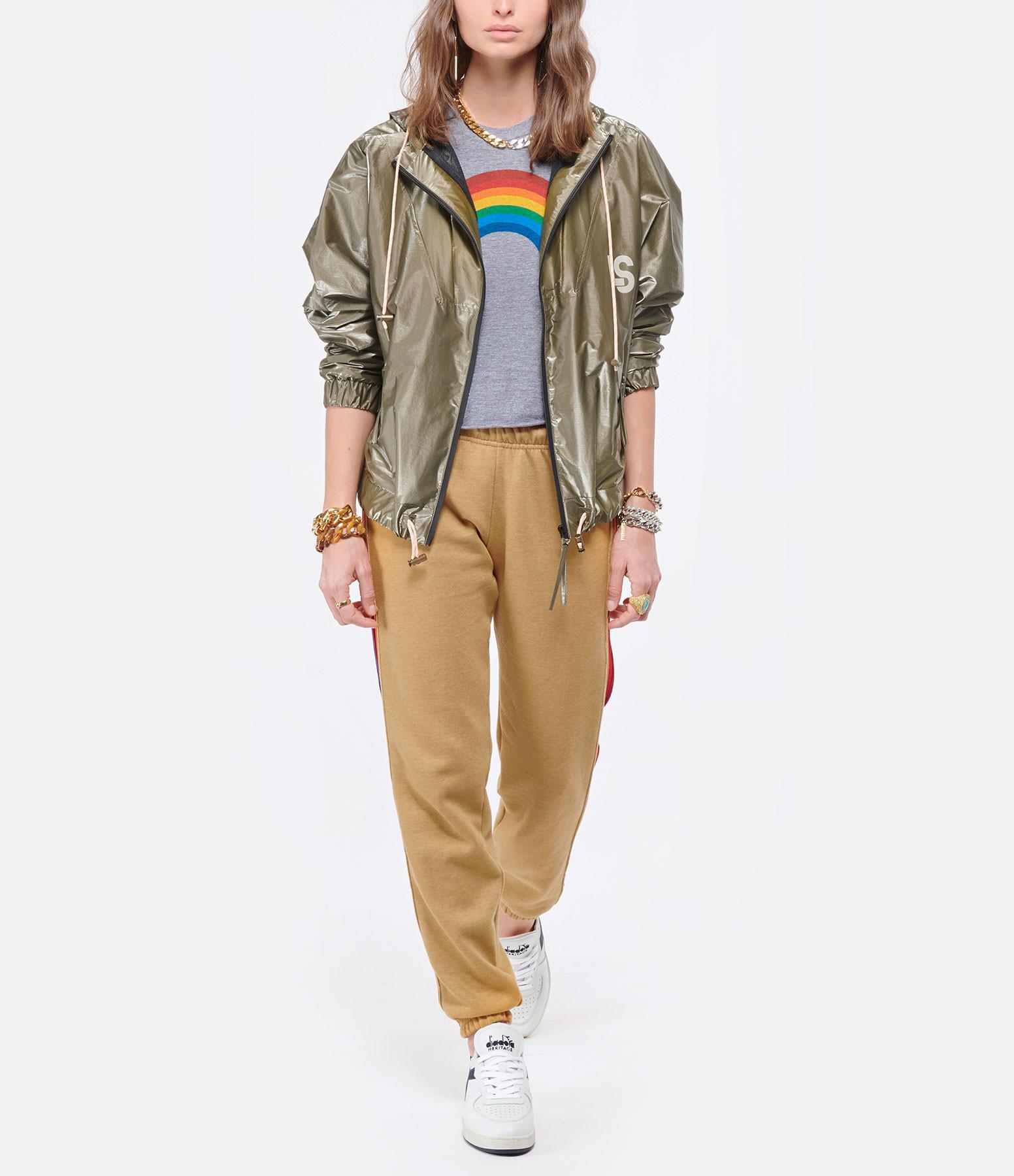 AVIATOR NATION - Tee-shirt Rainbow Gris Chiné