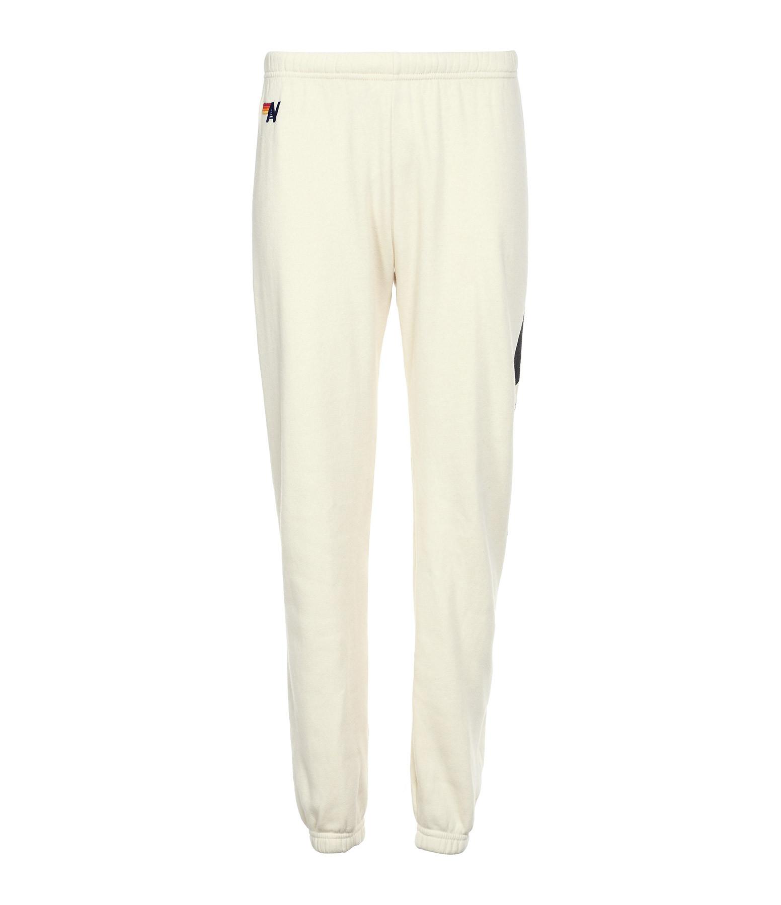 AVIATOR NATION - Jogging Bolt Coton Blanc Vintage