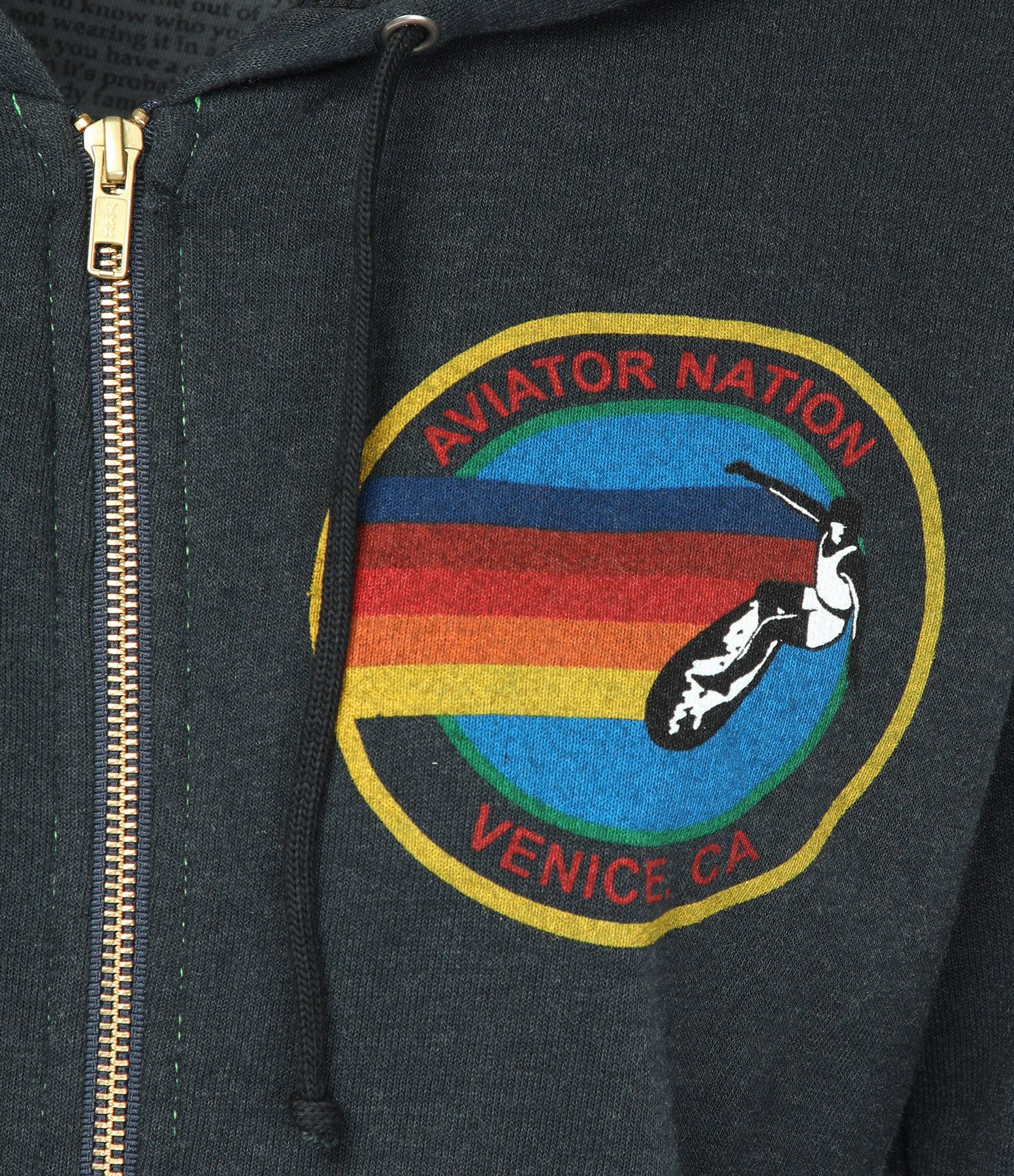 AVIATOR NATION - Sweatshirt Aviator Nation Coton Charbon