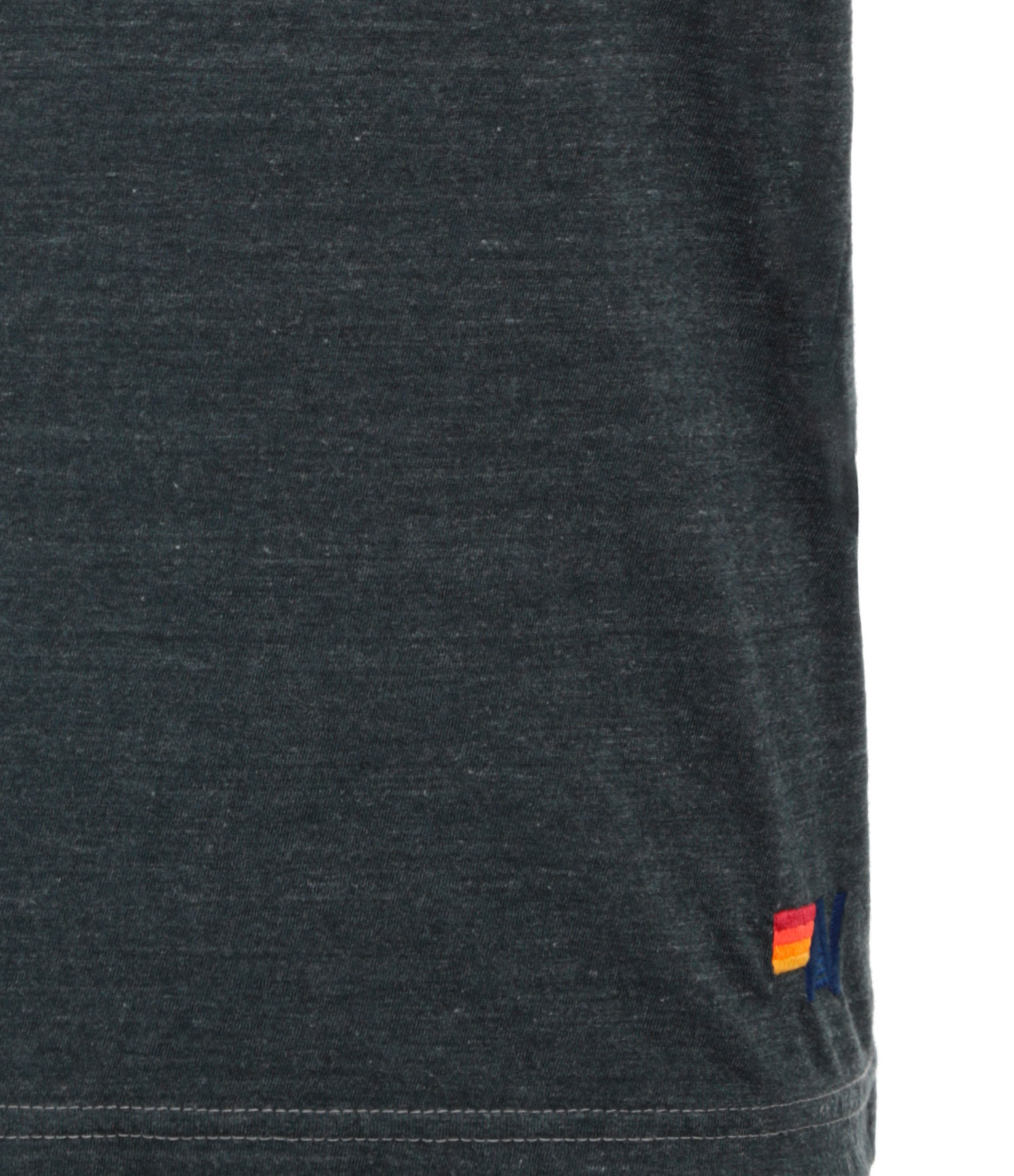 AVIATOR NATION - Tee-shirt Bolt Coton Charbon