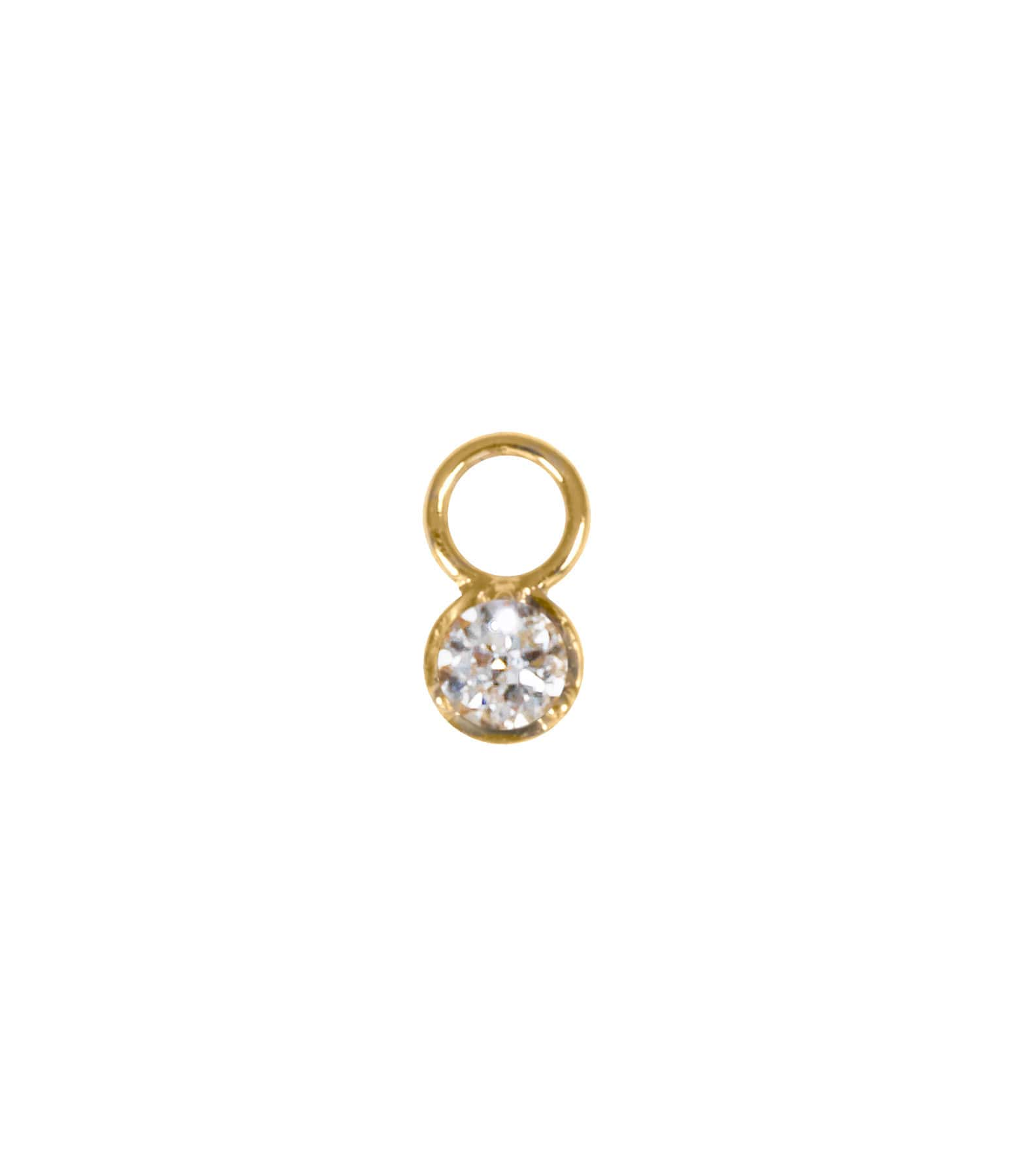 AND...PARIS - Mini Charm Or Diamant