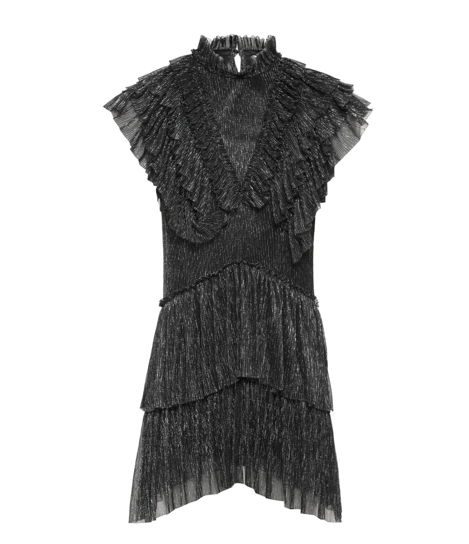 ANTIK BATIK - Robe Courte Pigalle Argenté