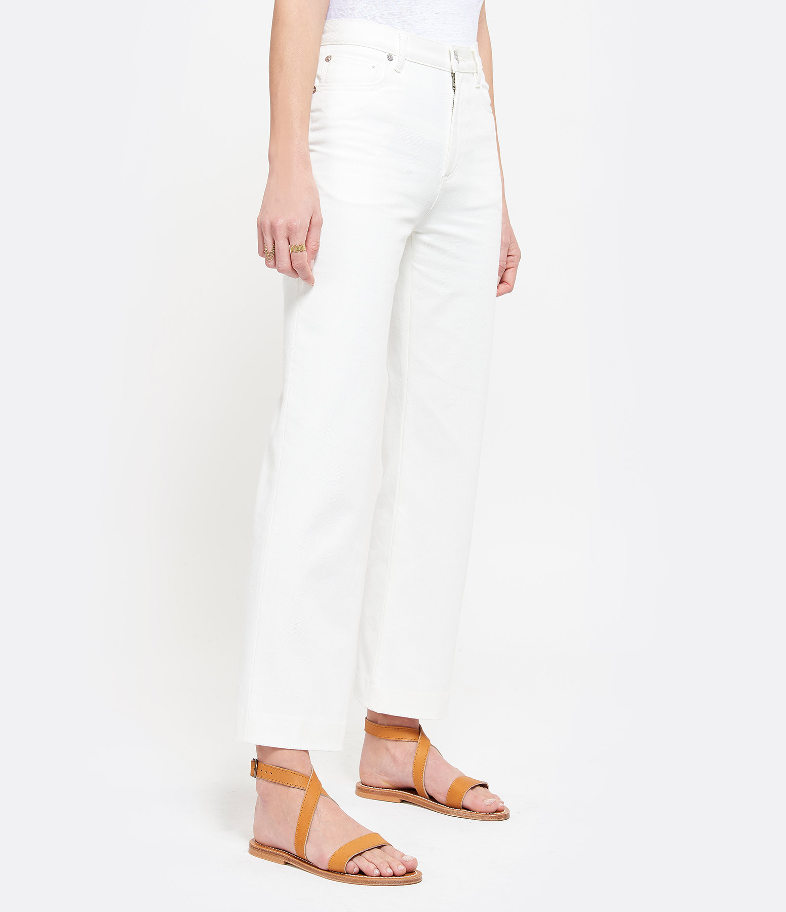 A.P.C. - Jean Sailor Denim Blanc