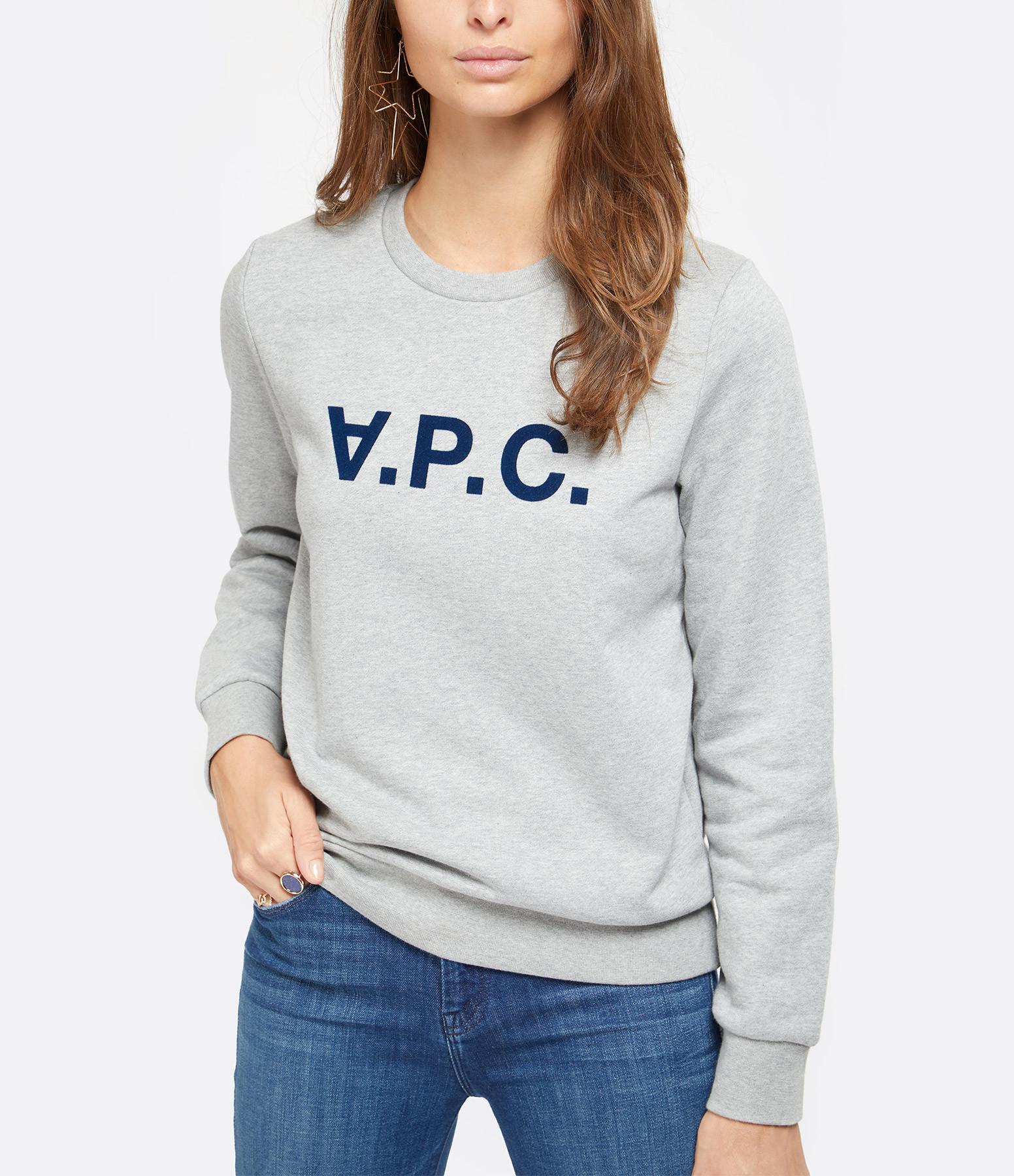 A.P.C. - Sweatshirt Viva Gris Chiné