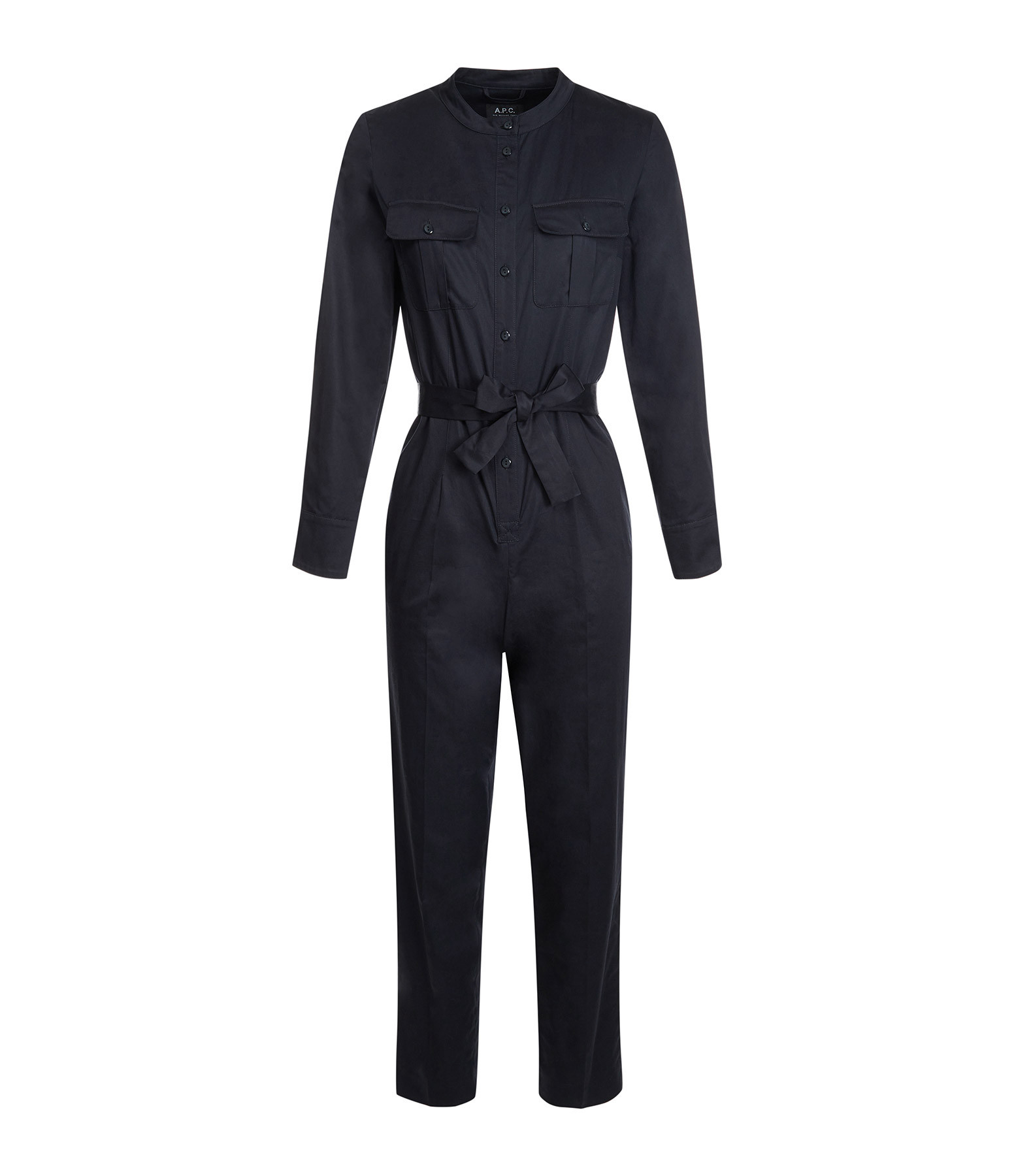 A.P.C. - Combinaison Pantalon Eleonore Navy Foncé