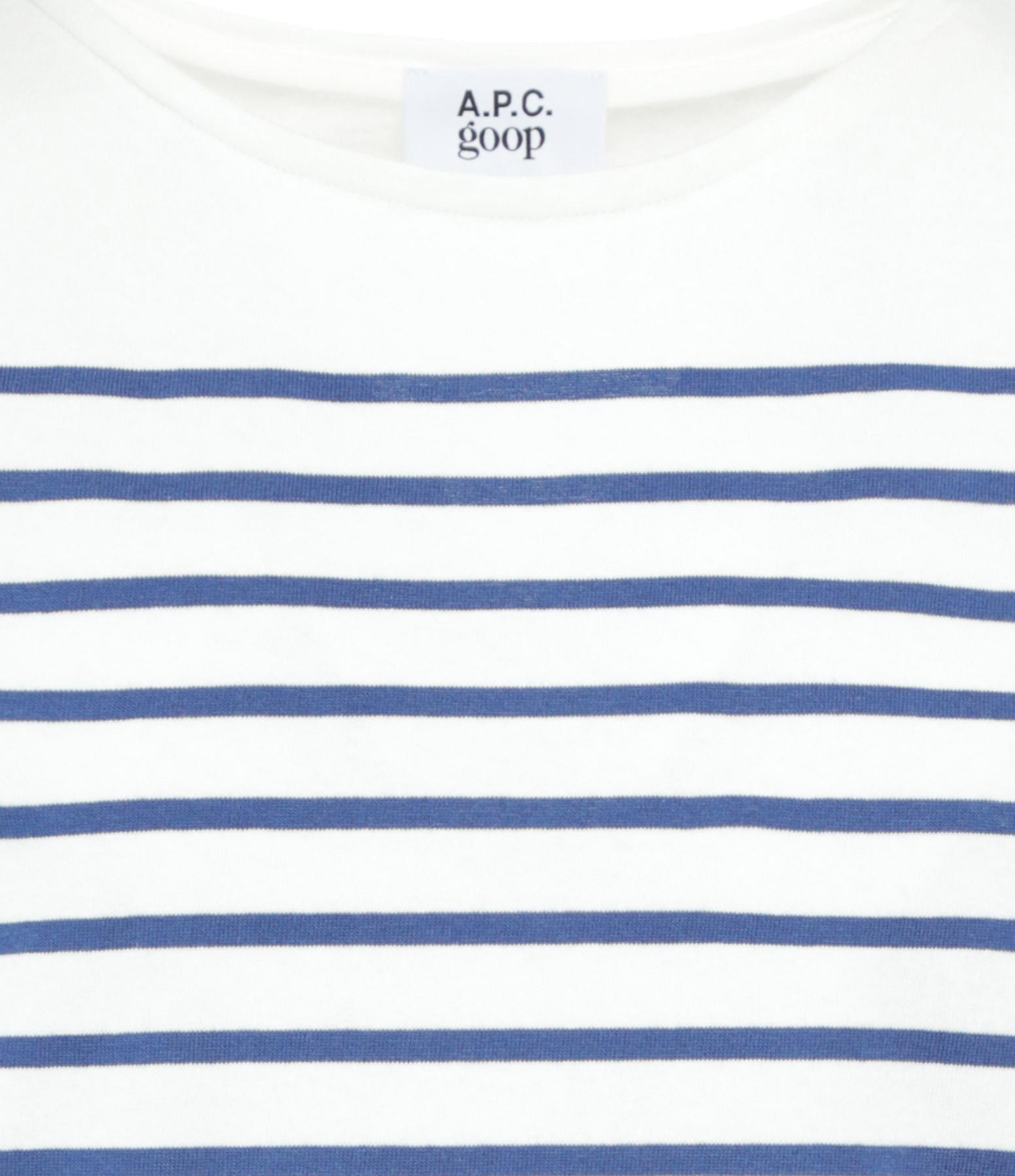 A.P.C. - Marinière Suzy Blanc Bleu