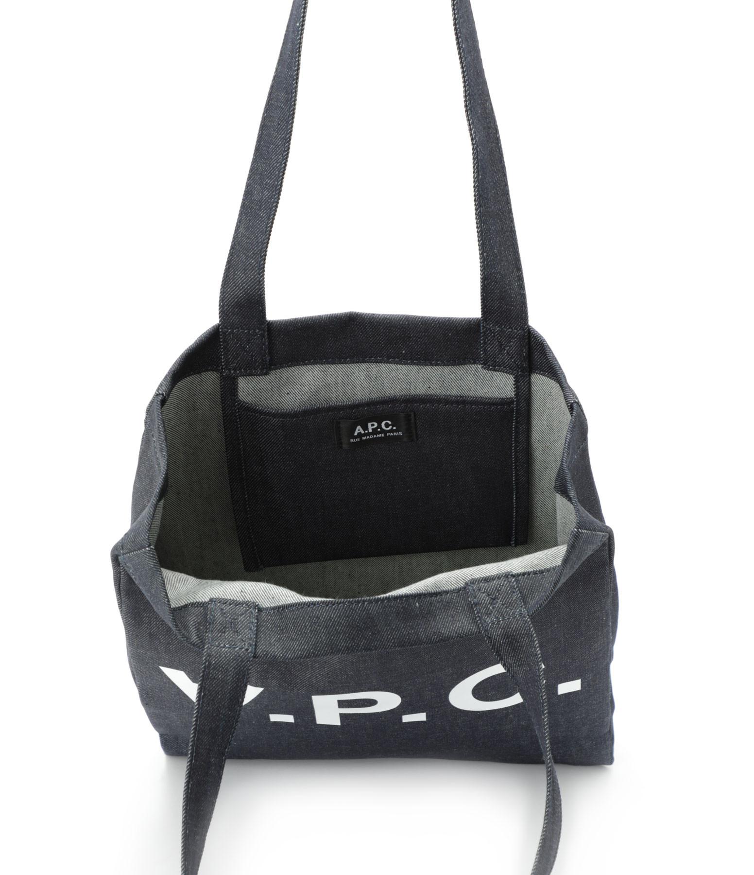 A.P.C. - Sac Tote Bag Laure Denim Indigo