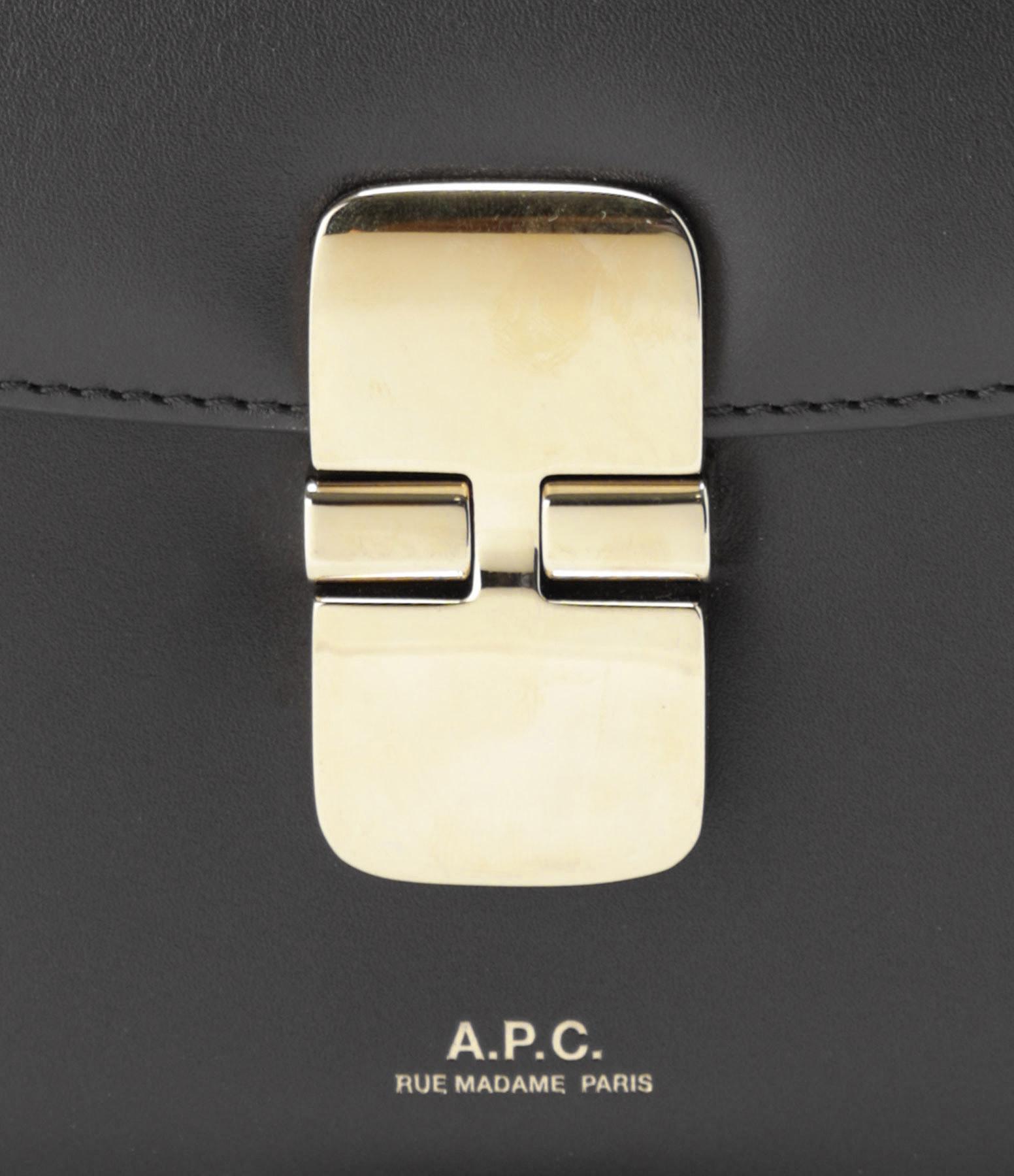 A.P.C. - Sac Grace Mini Cuir Lisse Noir