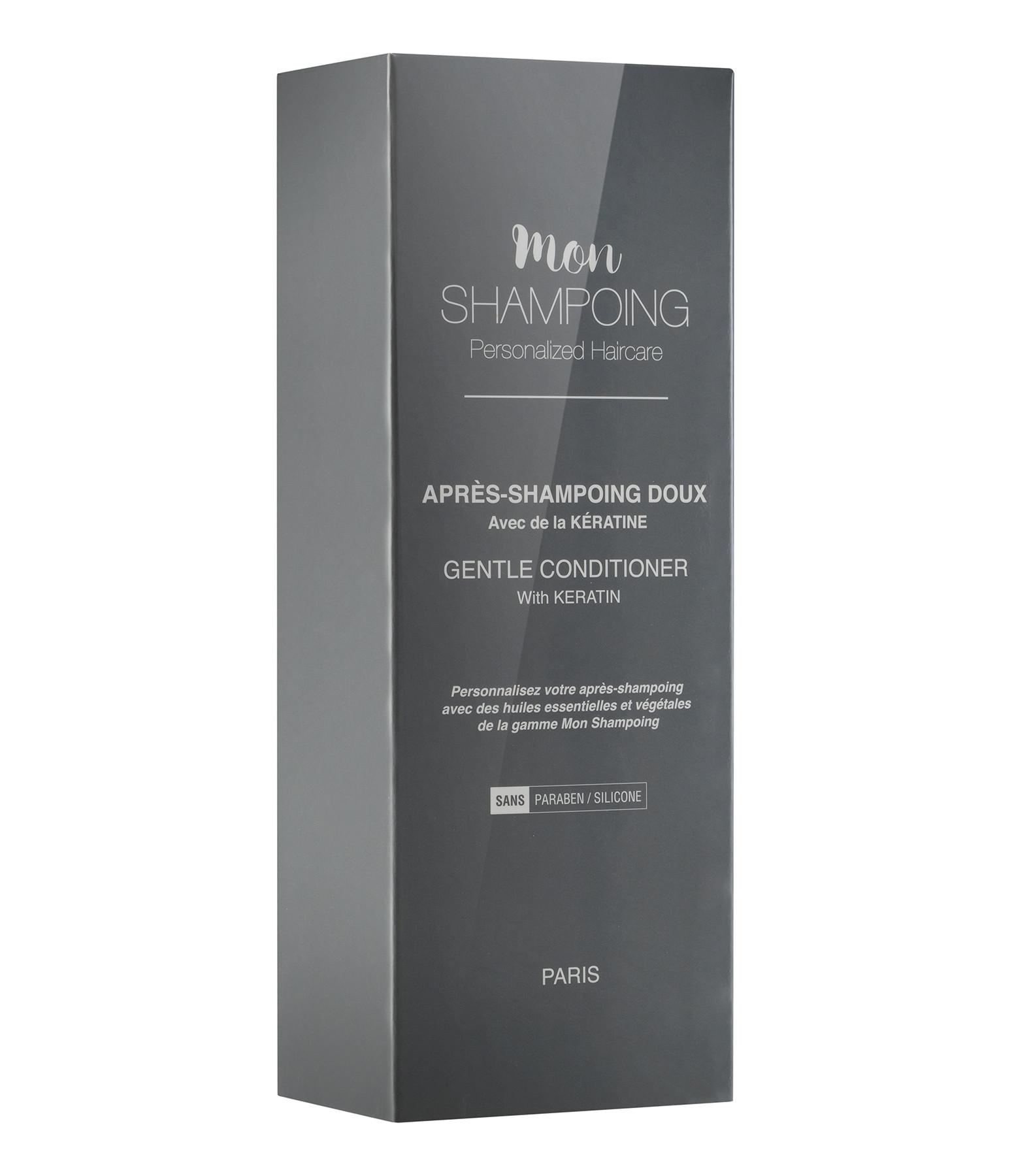 MON SHAMPOING - Après-Shampoing Naturel Neutre Keratine 250 ml