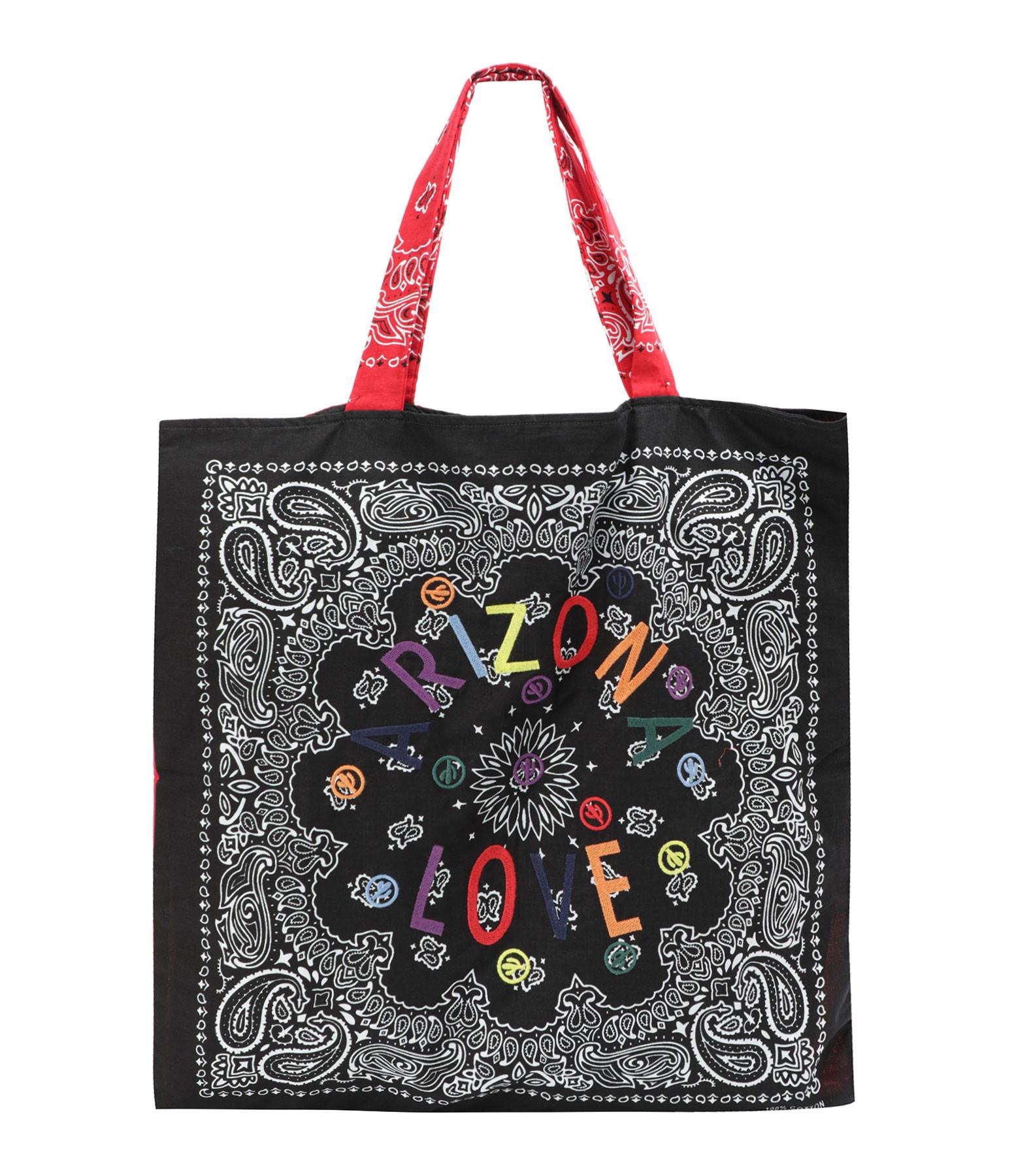 ARIZONA LOVE - Sac Tote Bag Beach Broderie Noir