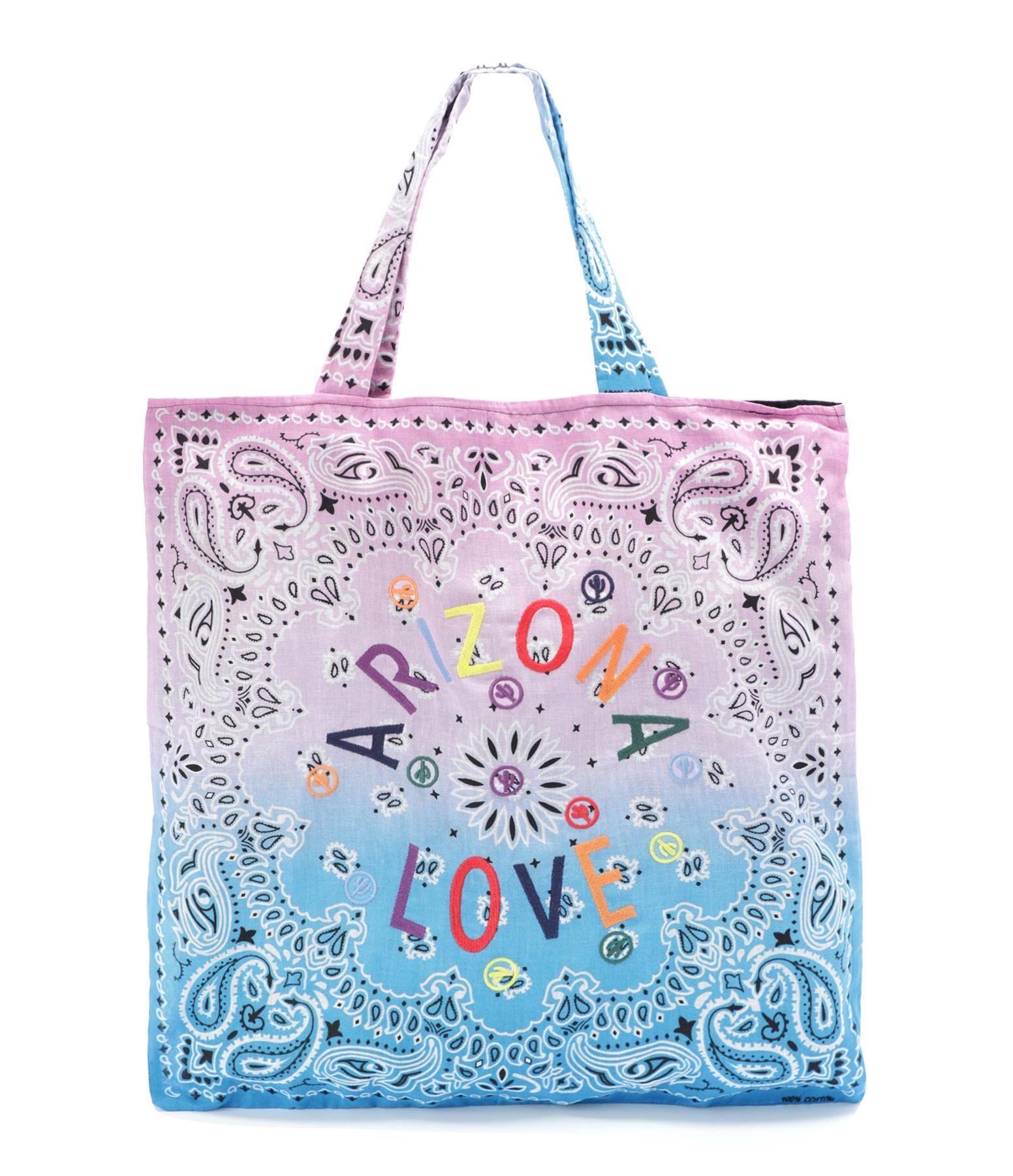 ARIZONA LOVE - Sac Tote Bag Beach Broderie Rose