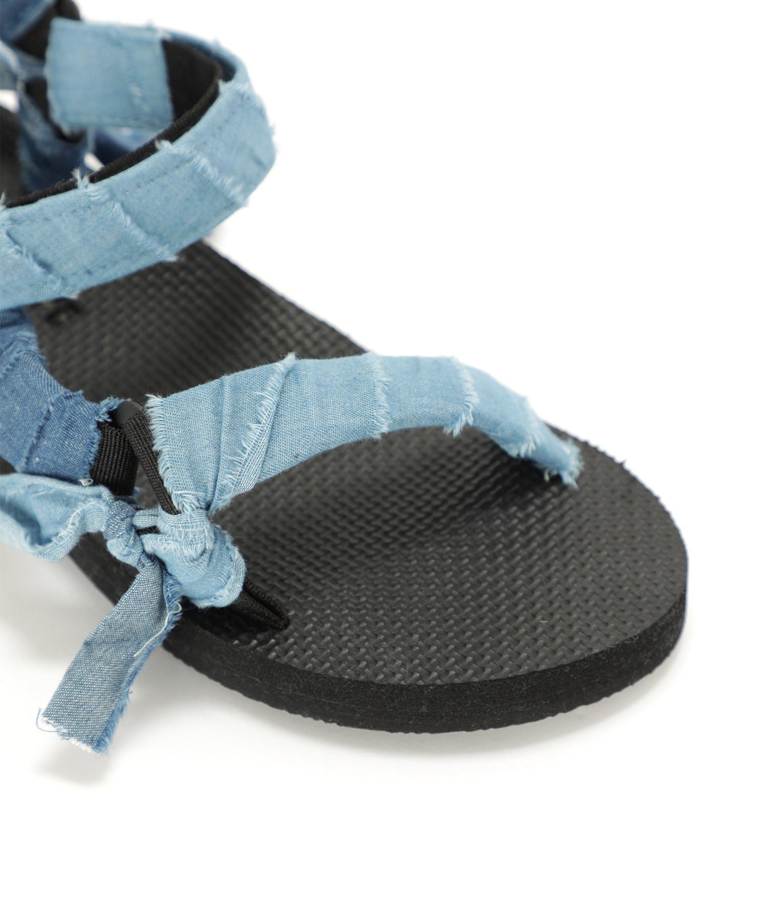 ARIZONA LOVE - Sandales Trekky Denim Bleu