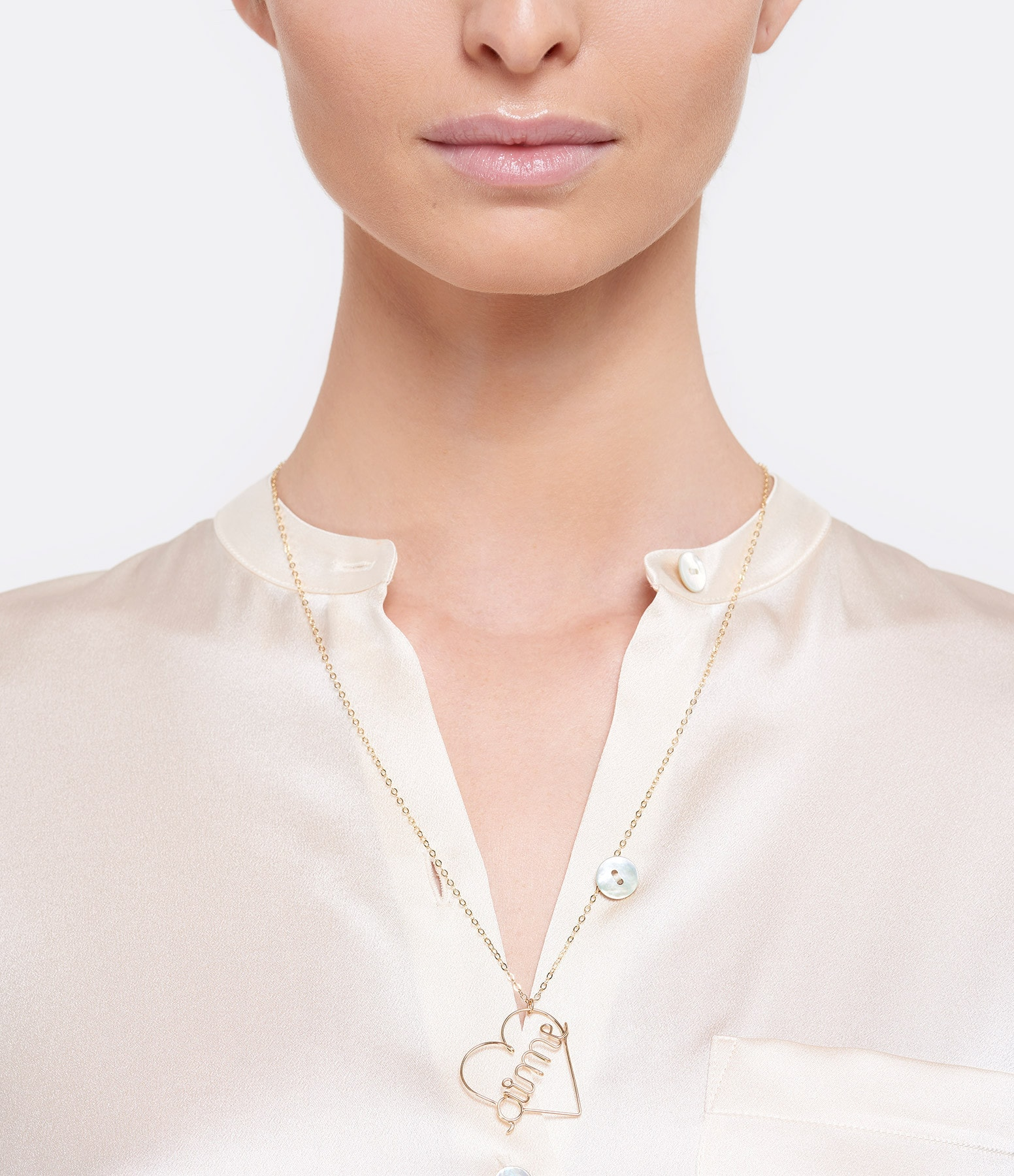 ATELIER PAULIN - Collier Aime PM Gold Filled 14K, Atelier Paulin x Inside Closet