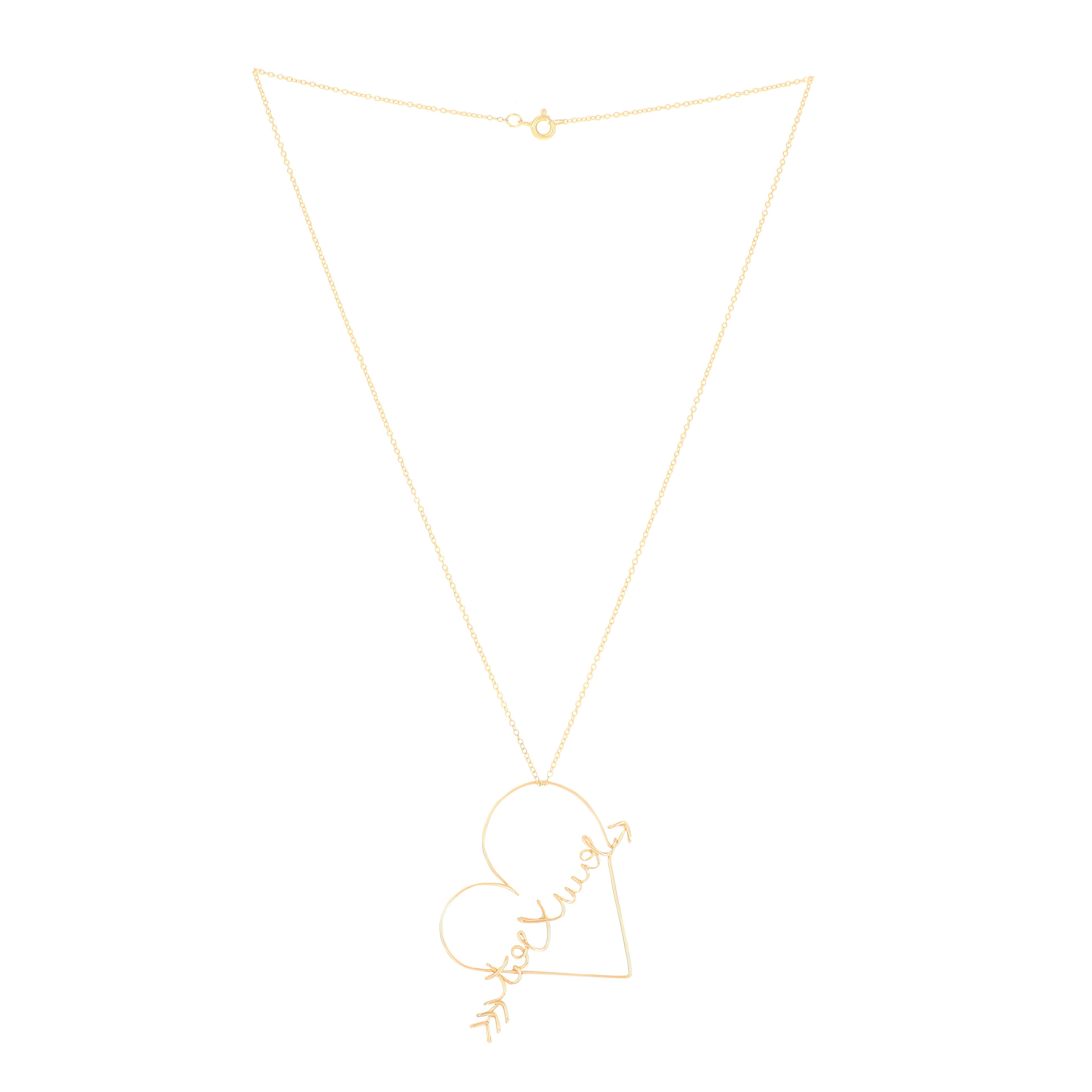 ATELIER PAULIN - Collier Toi x Moi Gold Filled 14K Jaune