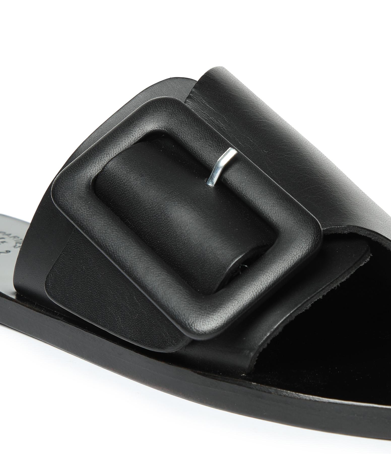 ATP ATELIER - Mules Ceci Vachette Noir