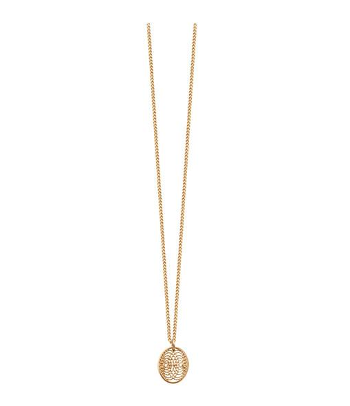 Collier Petite Médaille Diamants Aura - Charlet