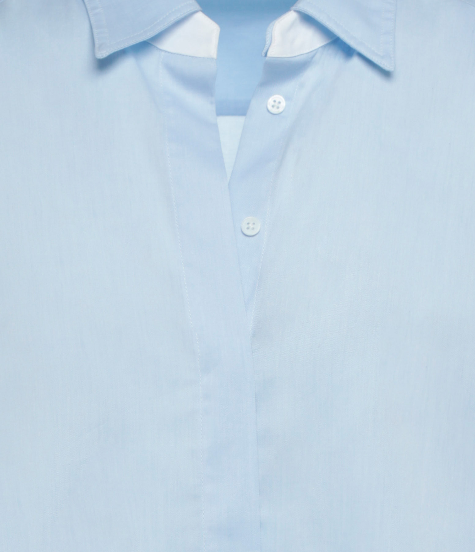 HANA SAN - Chemise Chikae Bleu
