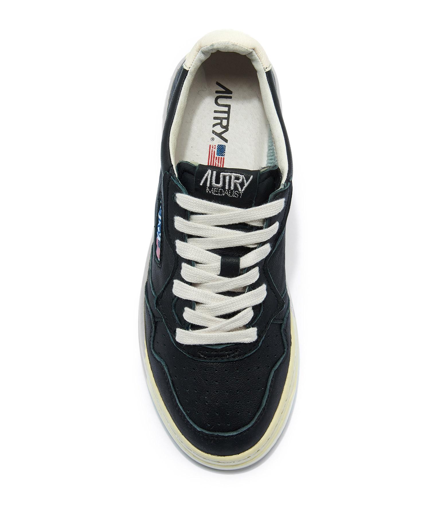 AUTRY - Baskets 01 Low Cuir Noir
