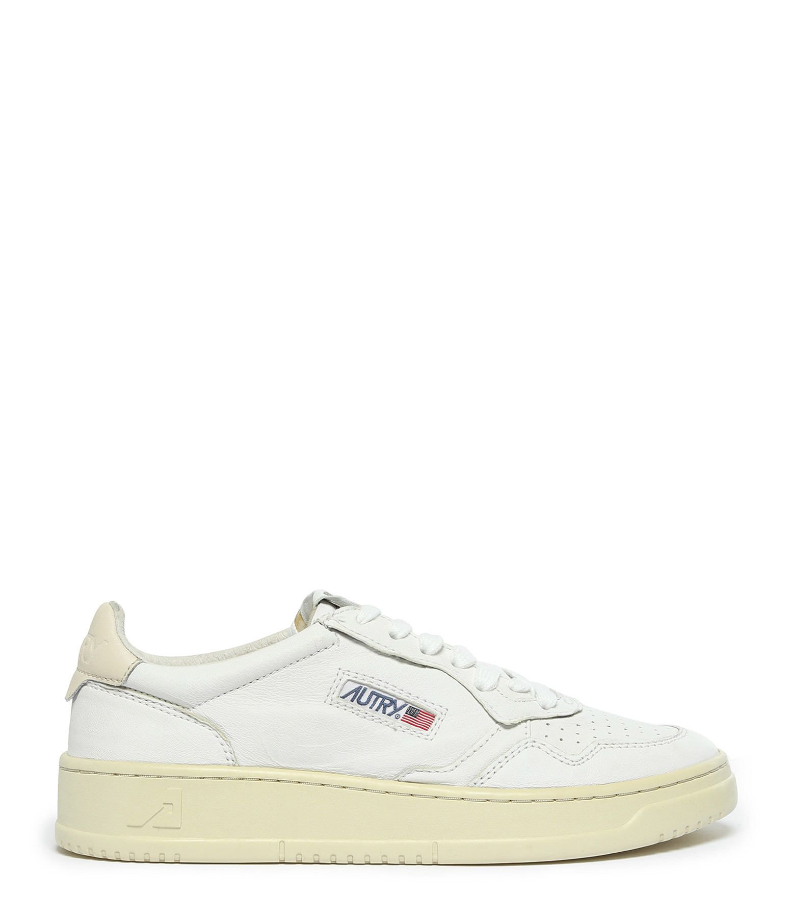 AUTRY - Baskets 01 Low Cuir Blanc