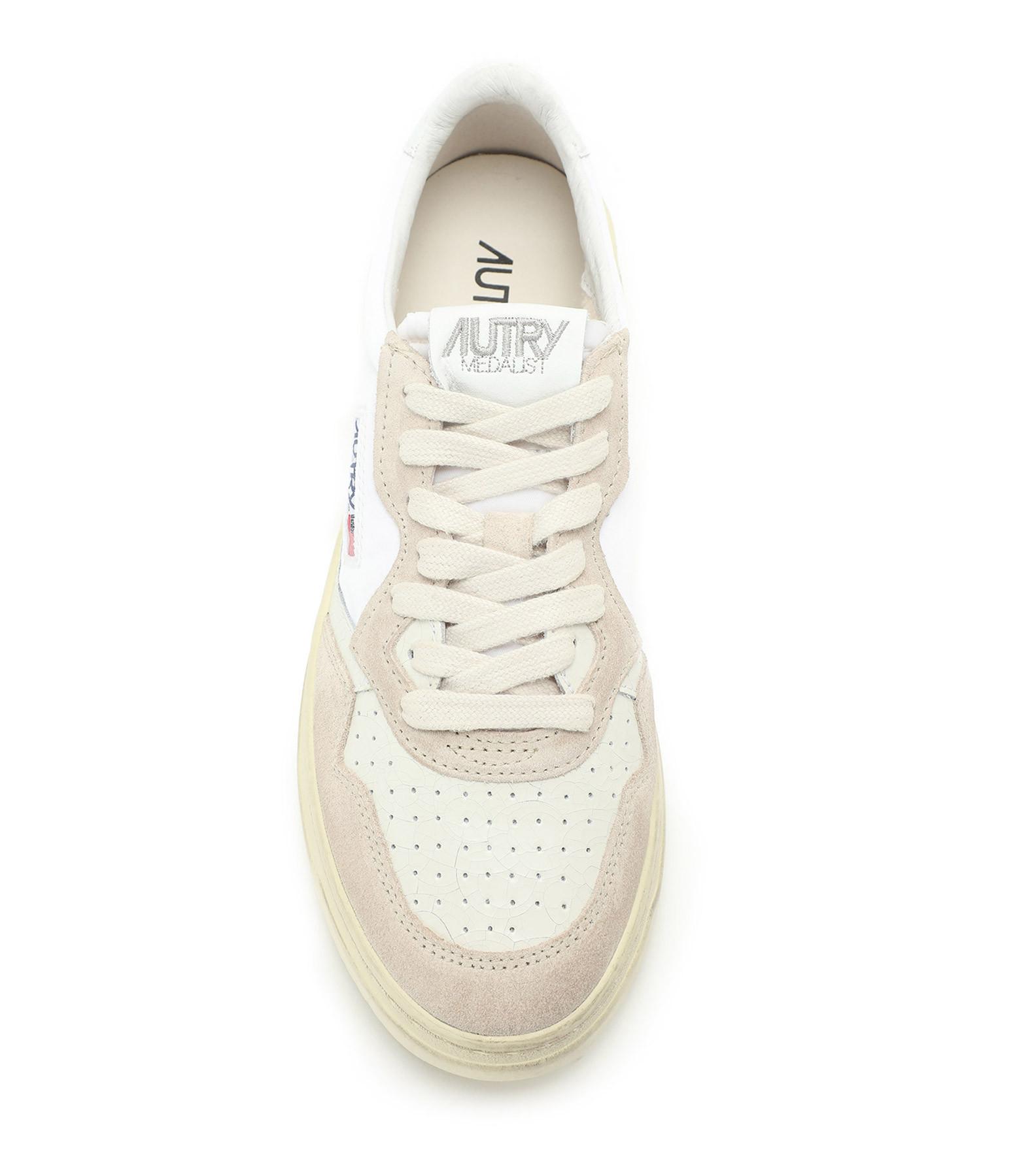 AUTRY - Baskets 01 Low Blanc