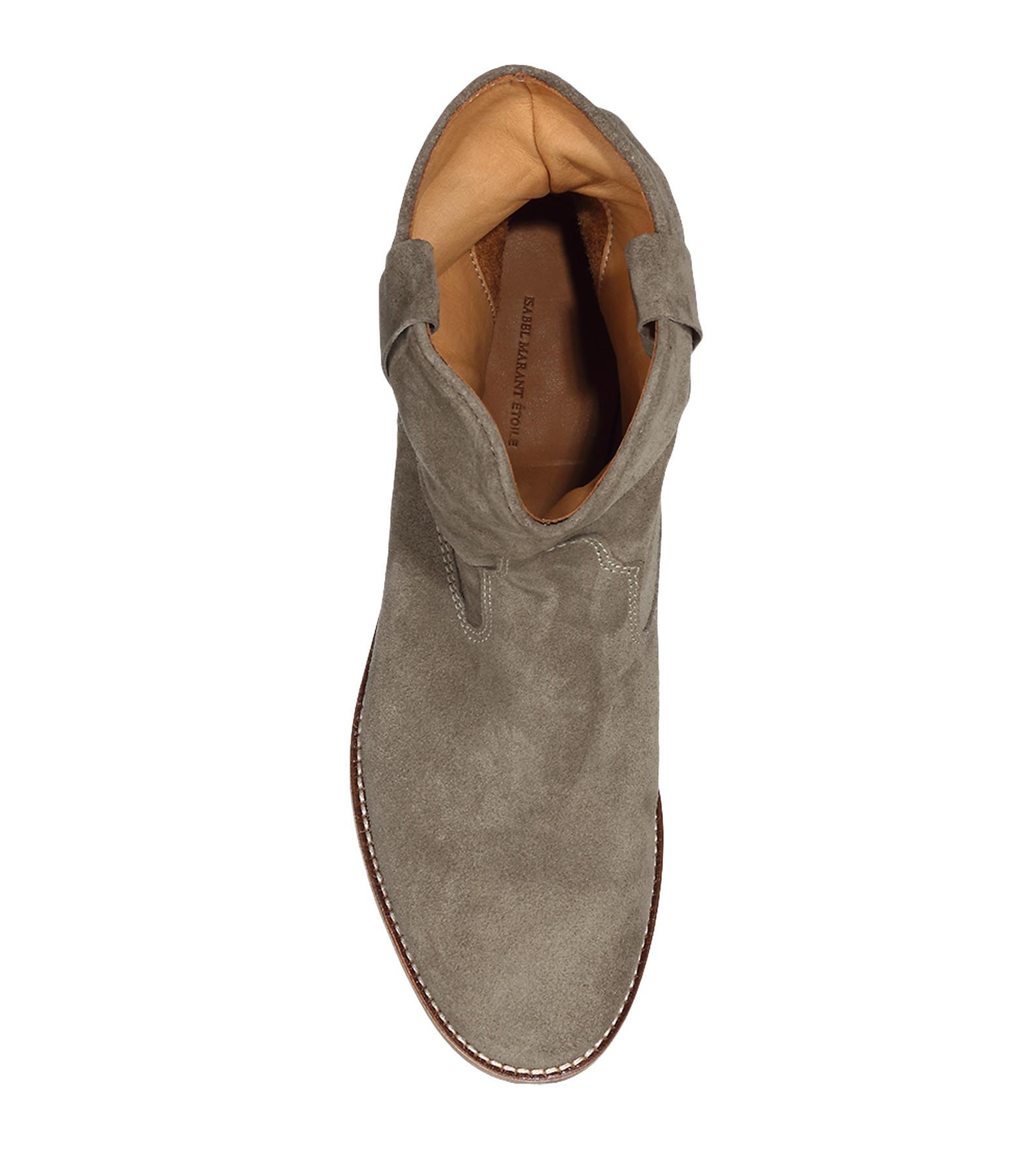 Boots Crisi Taupe - ISABEL MARANT ETOILE