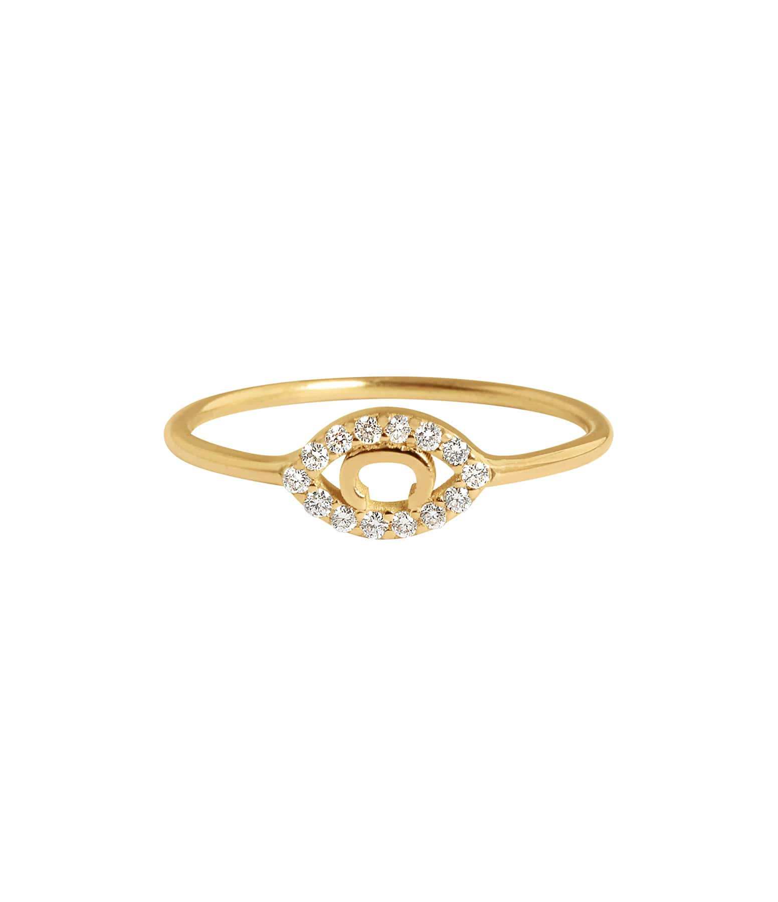 CHARLET - Bague Iris Diamants Or Jaune