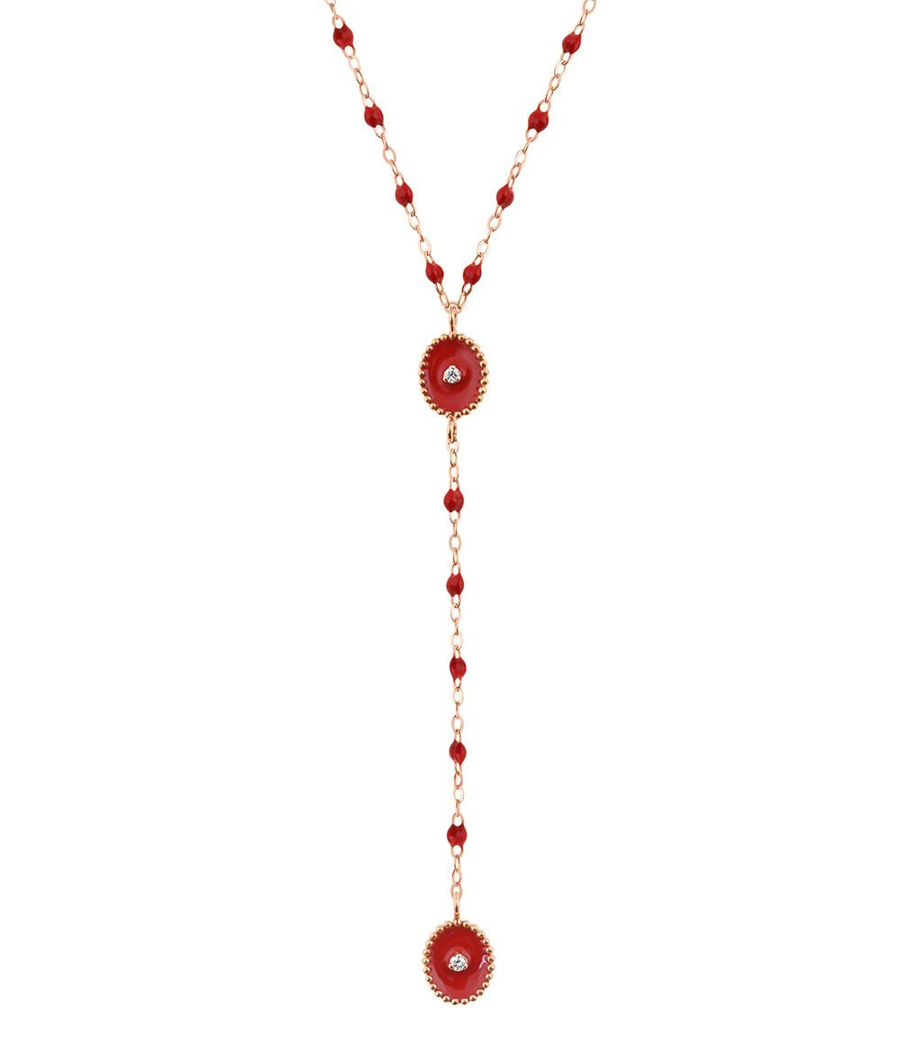 GIGI CLOZEAU - Collier Étoile du Nord Chapelet Perles Résine Or Diamants