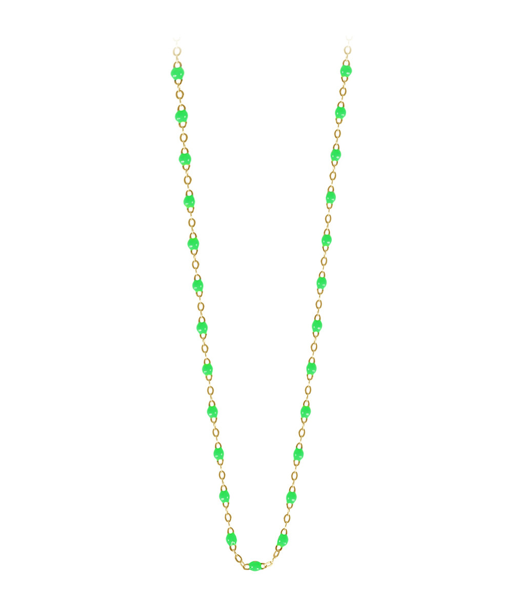 Sautoir Perles Résine 86 cm - Gigi Clozeau