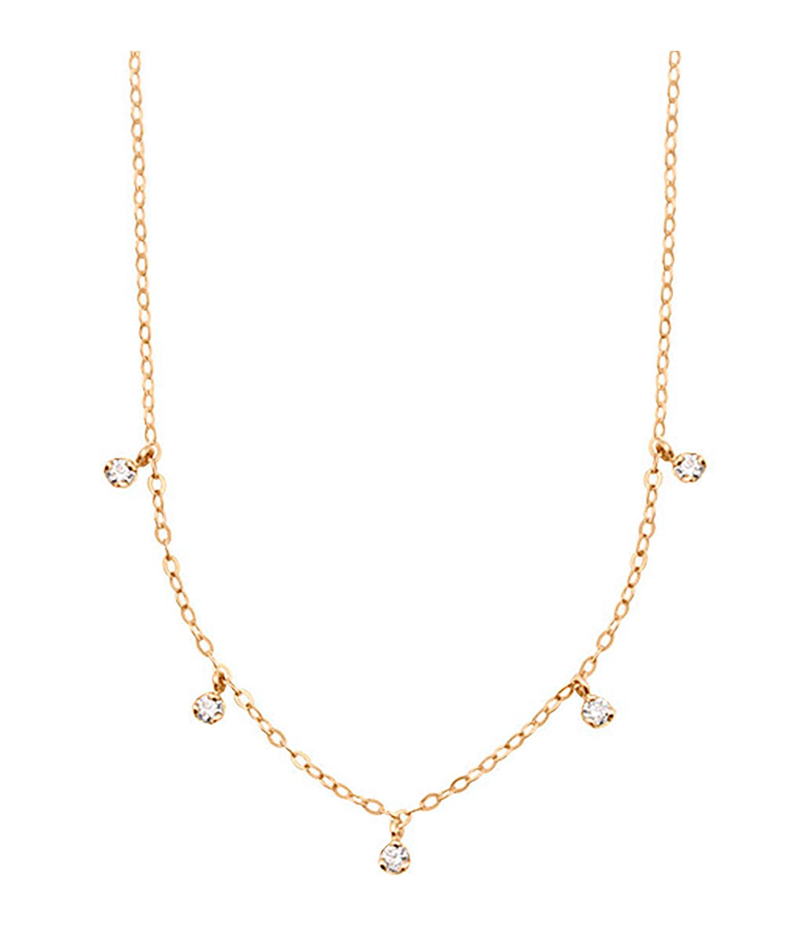 GIGI CLOZEAU - Collier Mini Gigi 5 Diamants