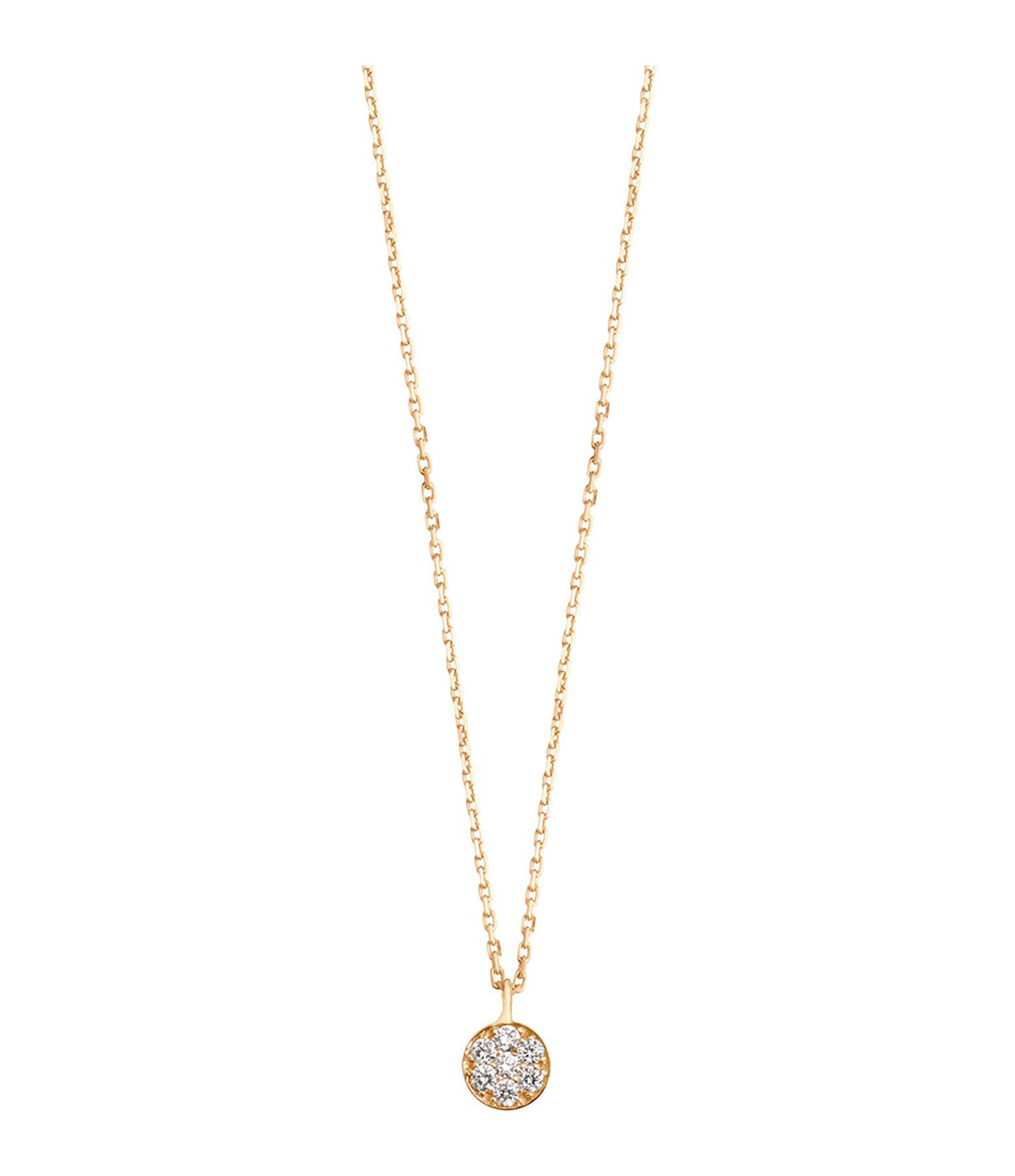 Collier Puce Diamants - GIGI CLOZEAU