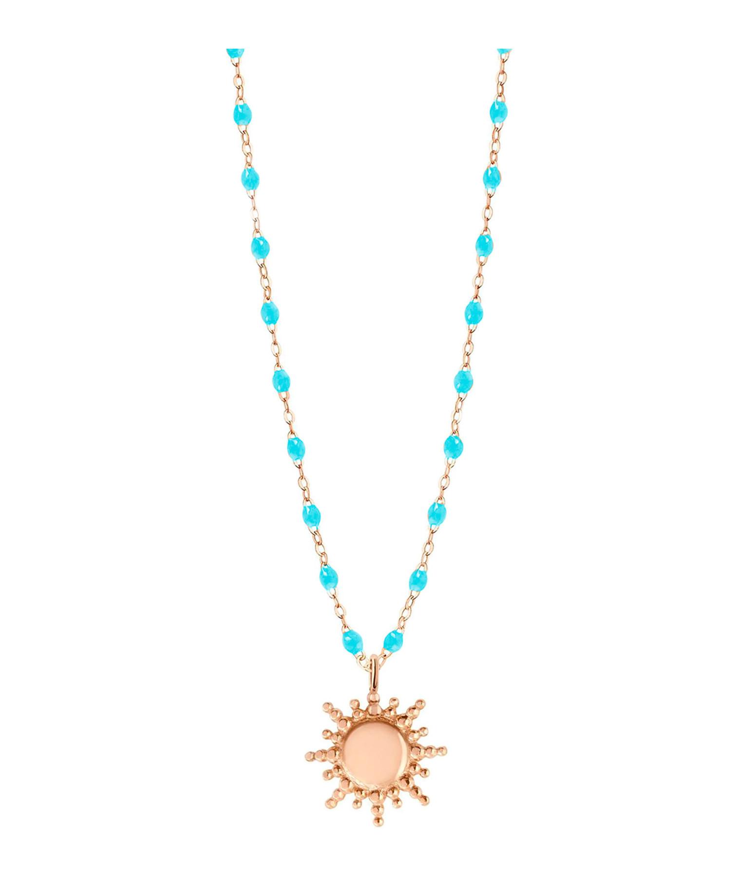 GIGI CLOZEAU - Collier Mini Perles Résine Soleil