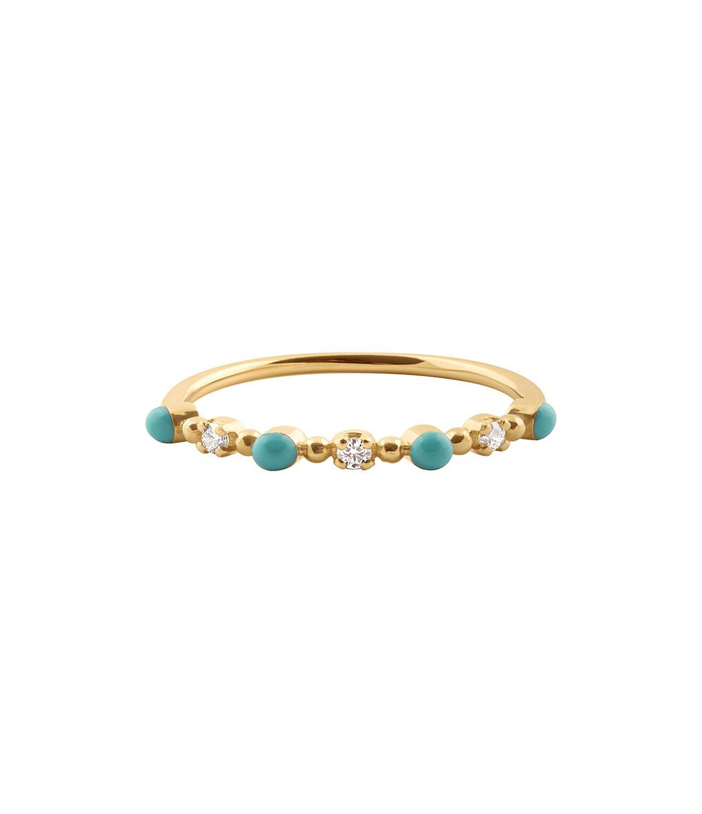Bague Résine Mini Gigi Diamants - GIGI CLOZEAU