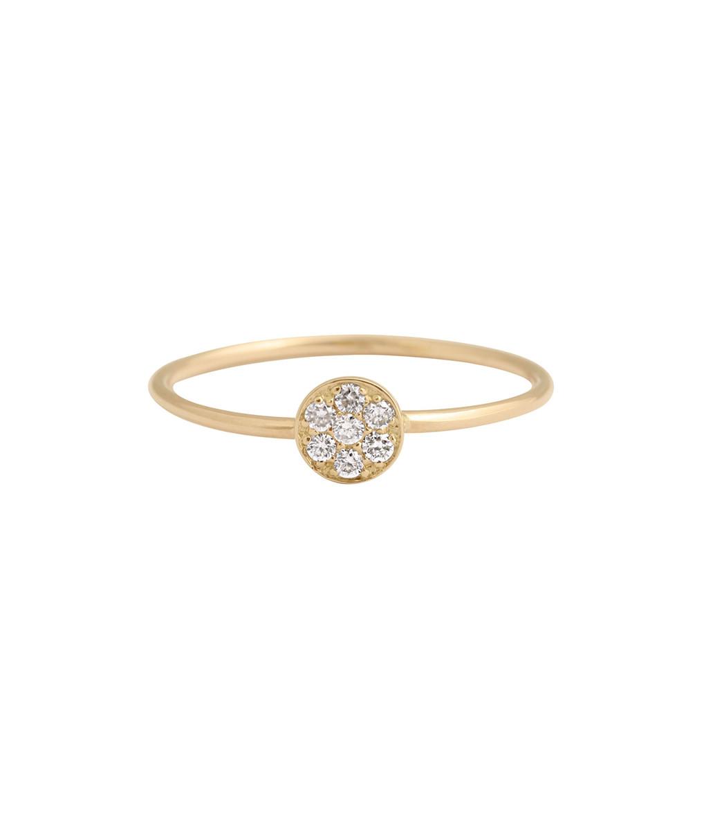 Bague Puce Diamants - GIGI CLOZEAU