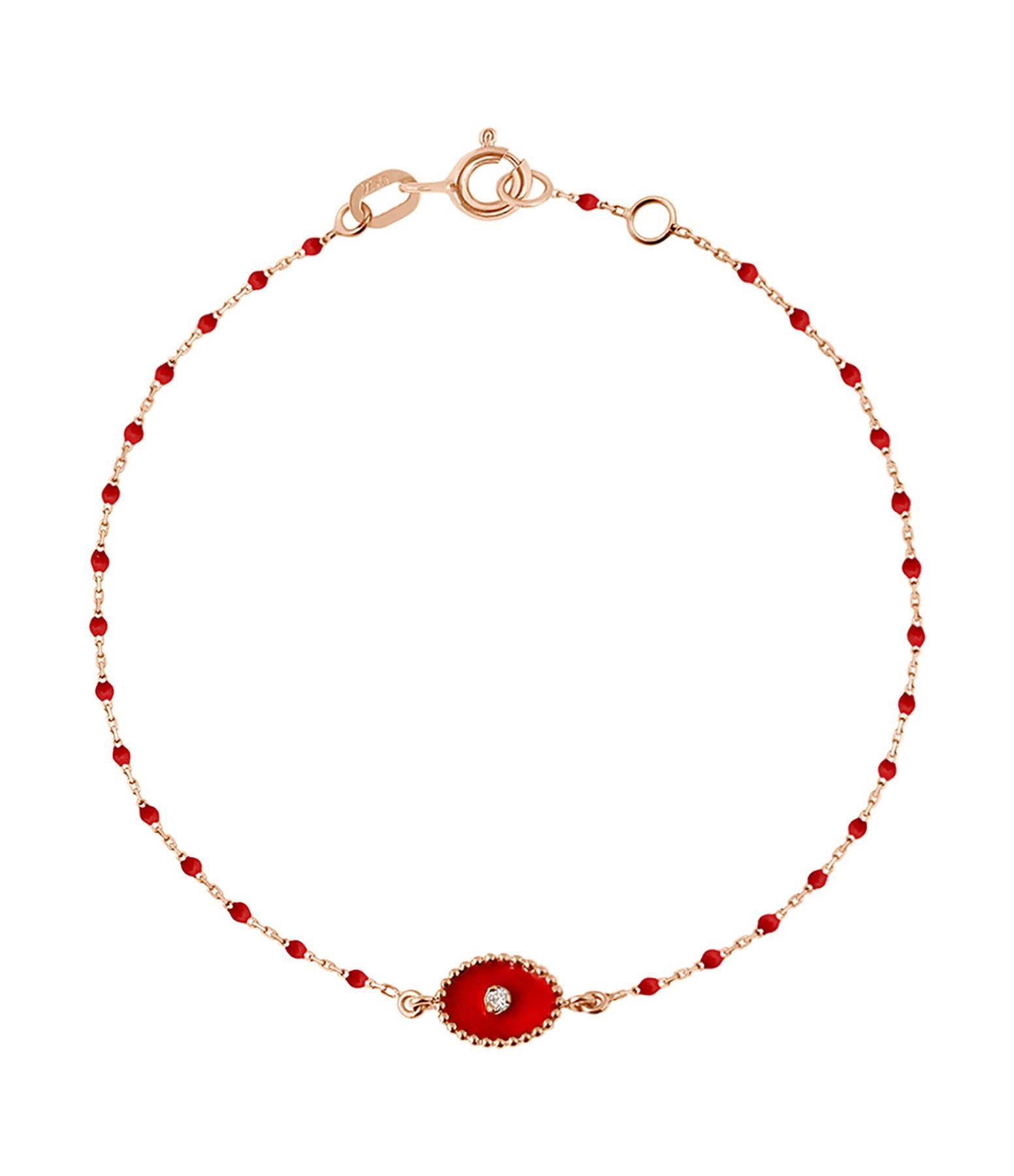 Bracelet Perles Résine Etoile du Nord Diamant - GIGI CLOZEAU