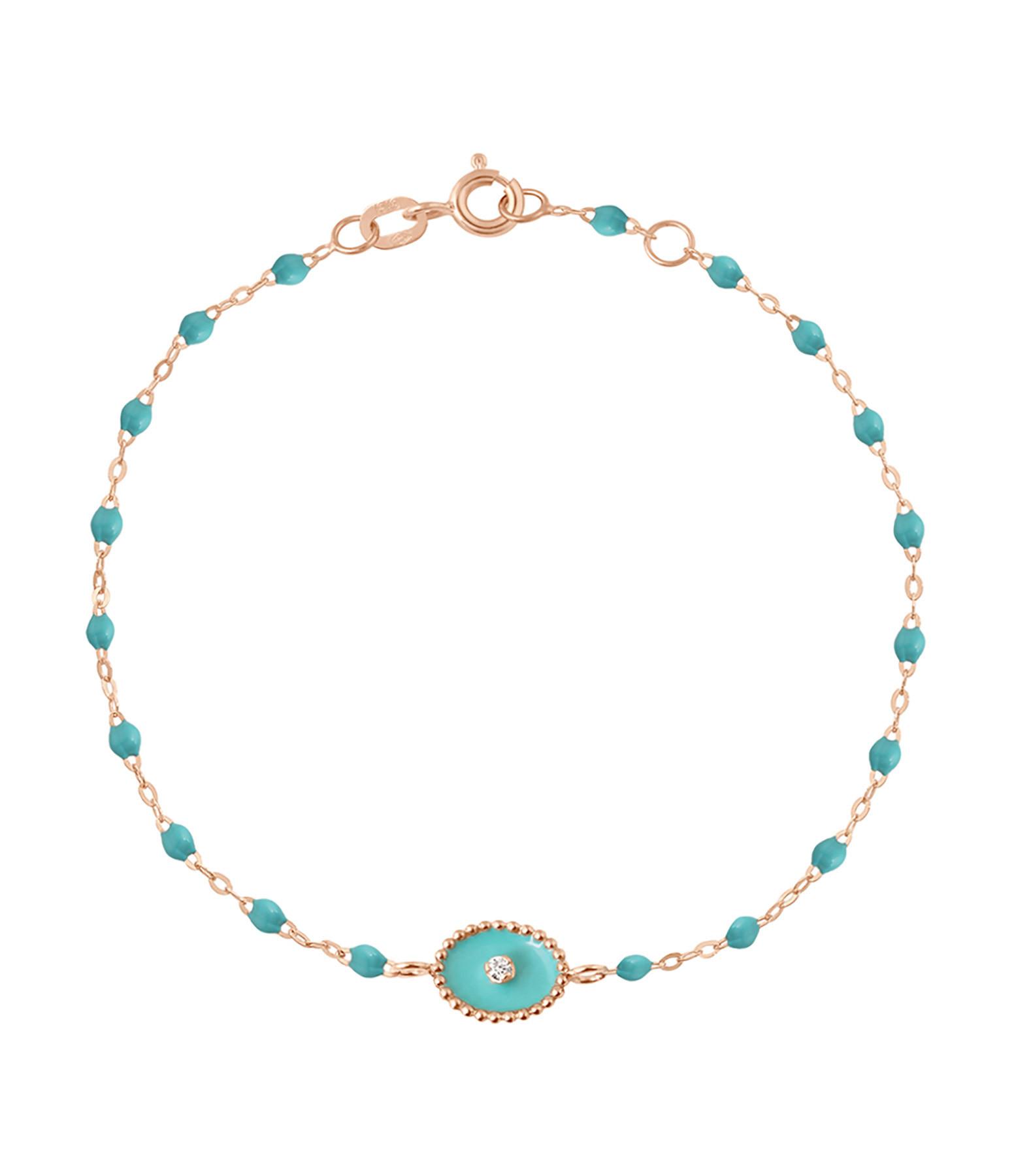 GIGI CLOZEAU - Bracelet Perles Résine Etoile Nord Diamant