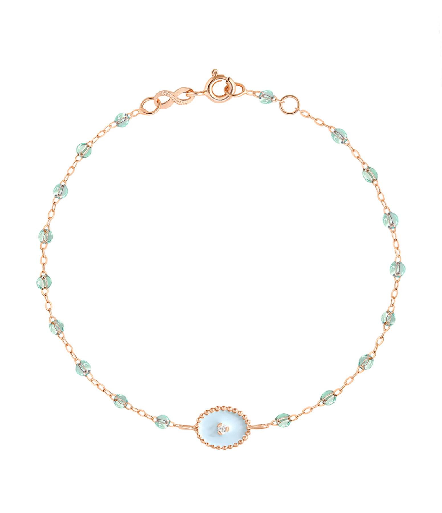 GIGI CLOZEAU - Bracelet Résine Etoile du Nord Diamants Transparents