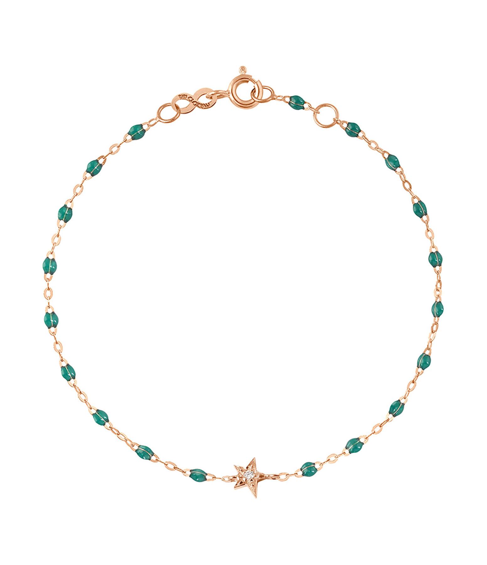 Bracelet Perles Résine Etoile Diamant - GIGI CLOZEAU