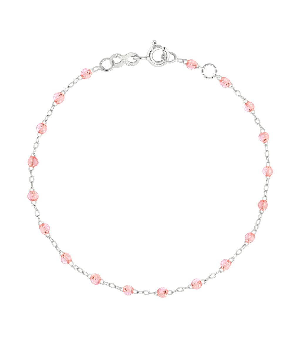 GIGI CLOZEAU - Bracelet Perles Résine Or 17 cm