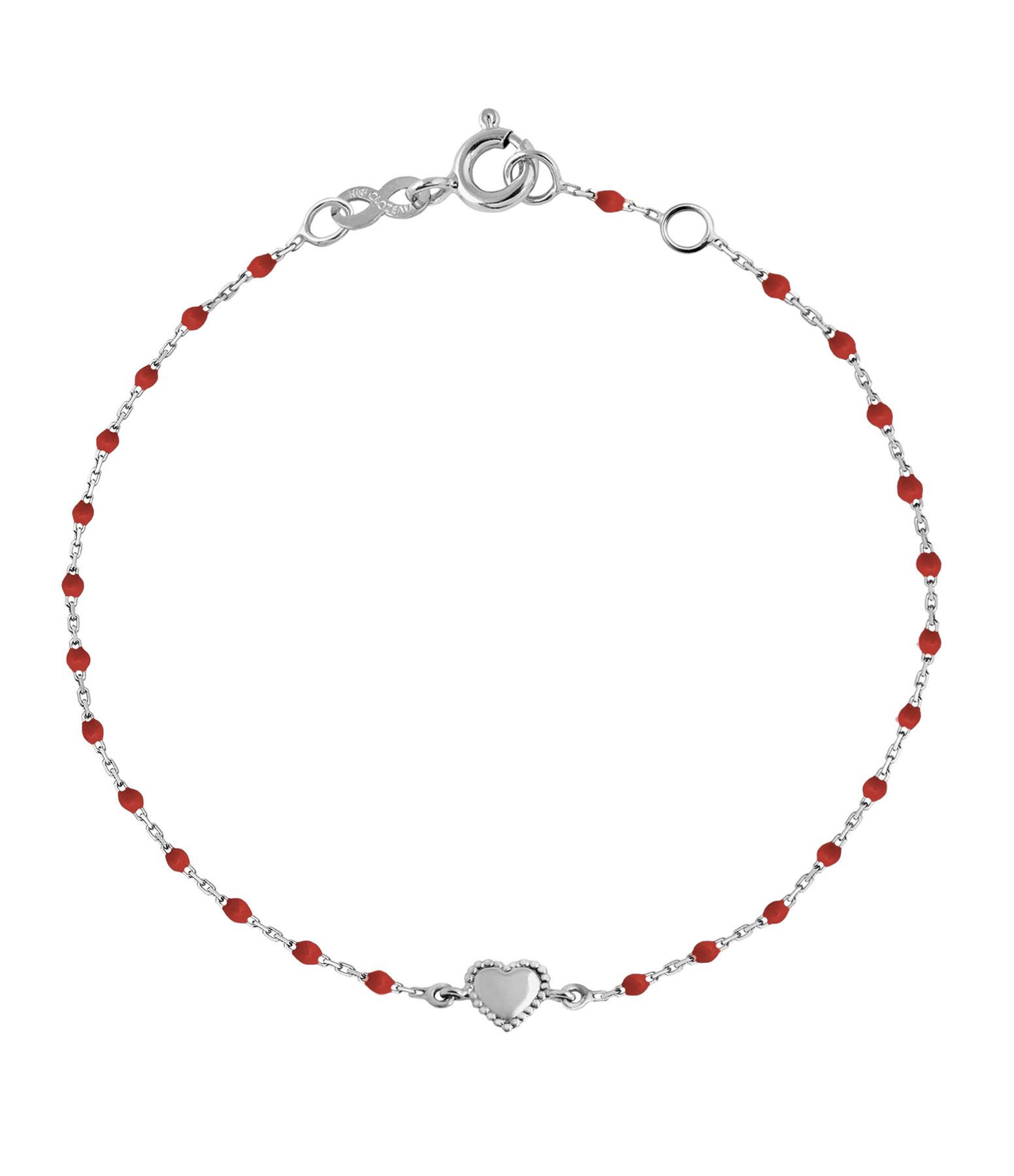 GIGI CLOZEAU - Bracelet Mini Perles Résine Lucky Coeur OG