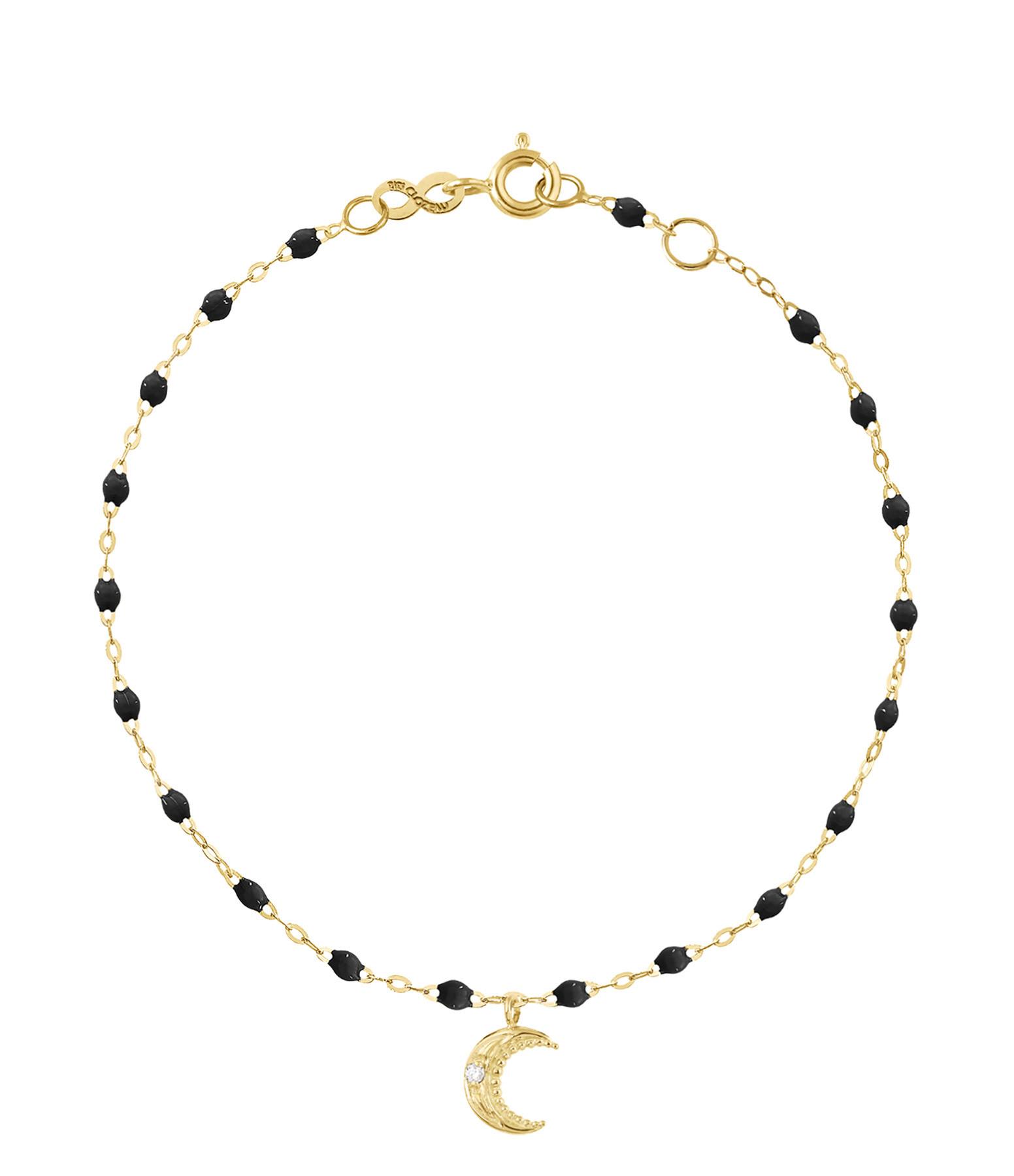 GIGI CLOZEAU - Bracelet Résine Lune Diamants