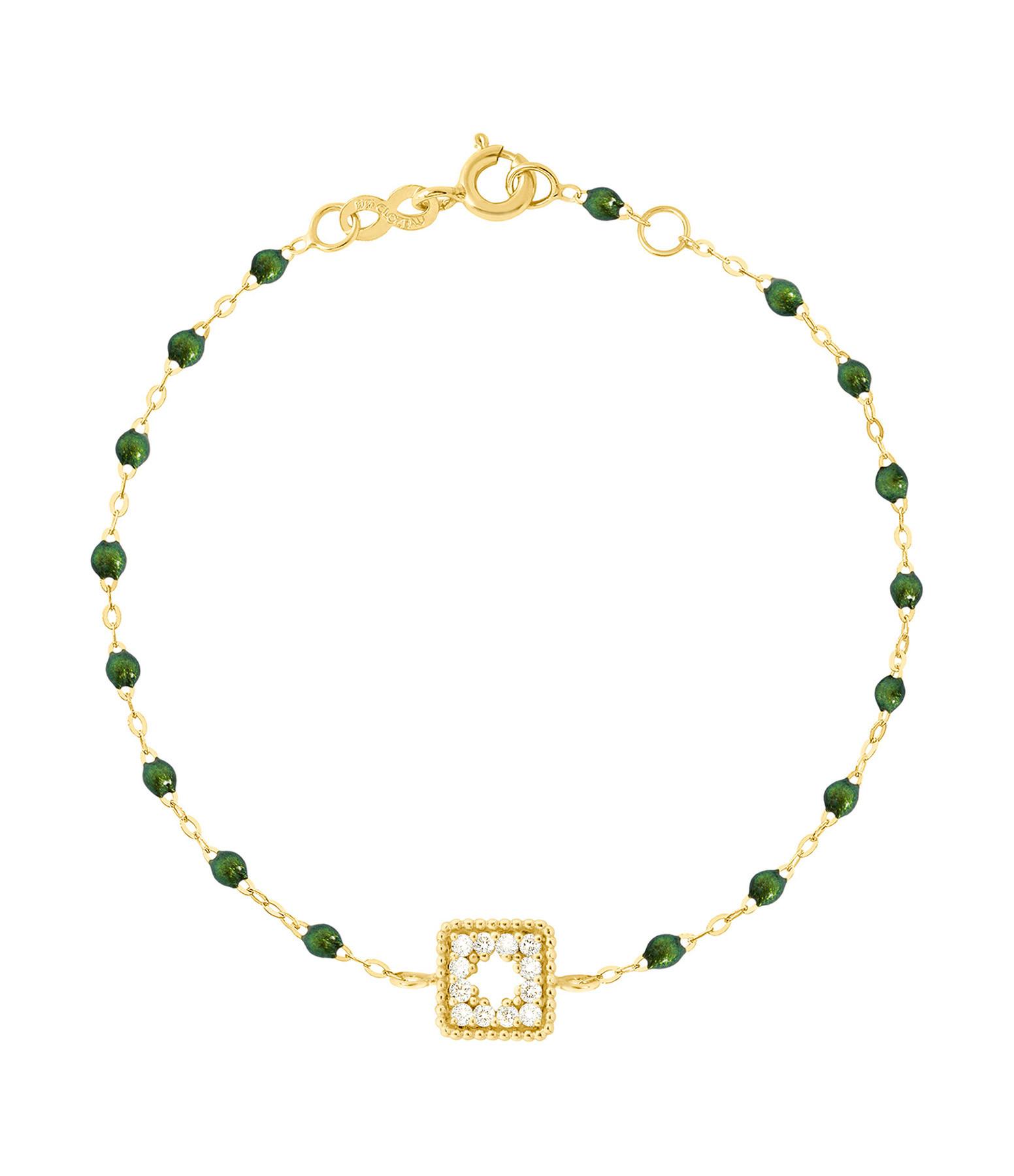 GIGI CLOZEAU - Bracelet résine Pirate Trésor Diams Or jaun