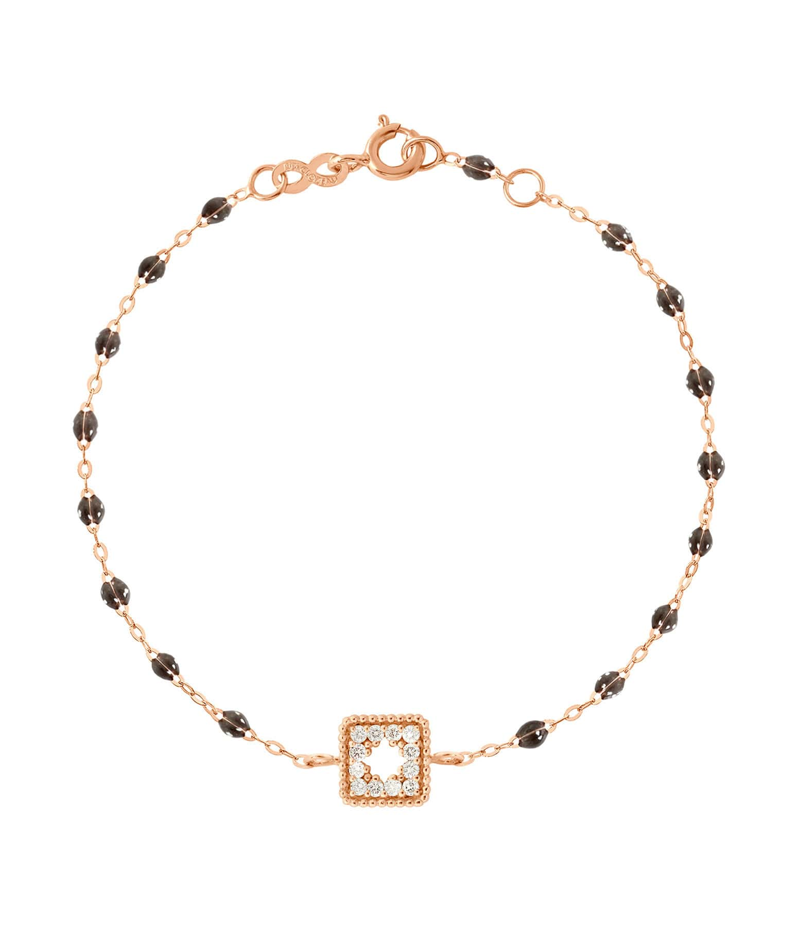 GIGI CLOZEAU - Bracelet résine Pirate Trésor Diams Or rose