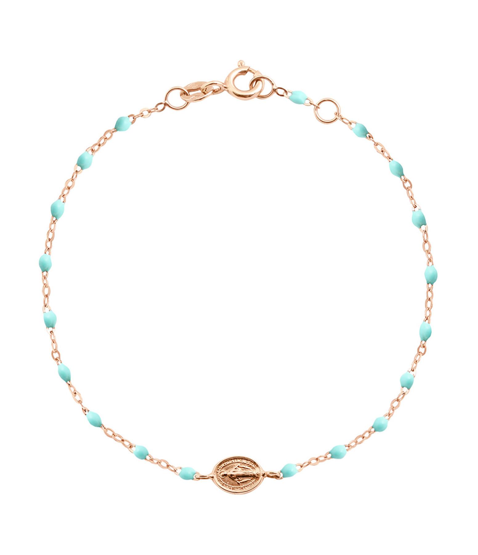 Bracelet Perles Résine Médaille Résine - GIGI CLOZEAU