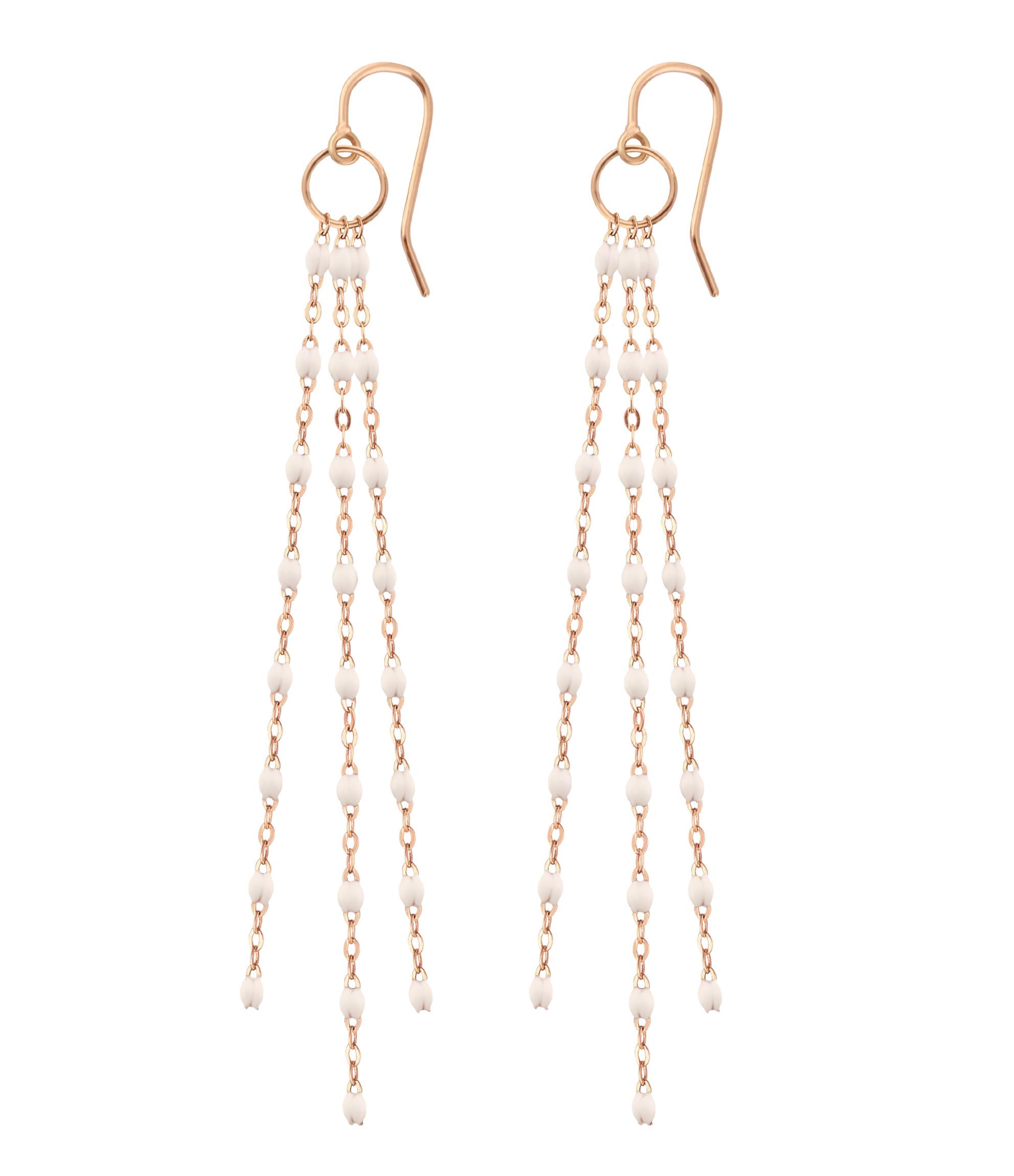 Boucles d'or. Pompon Perles Résine - Gigi Clozeau
