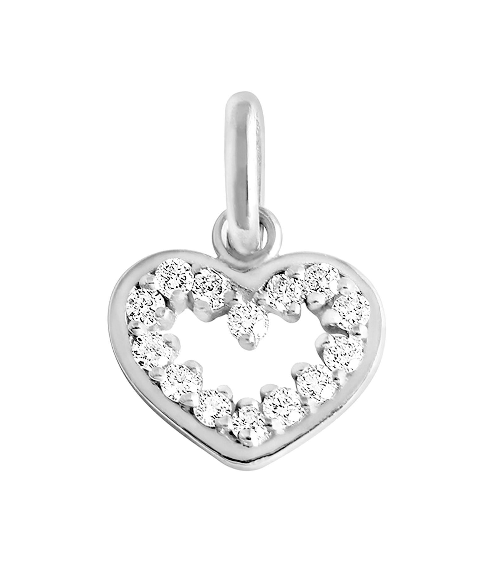 GIGI CLOZEAU - Pendentif Lucky Coeur Suprême Diamants Or